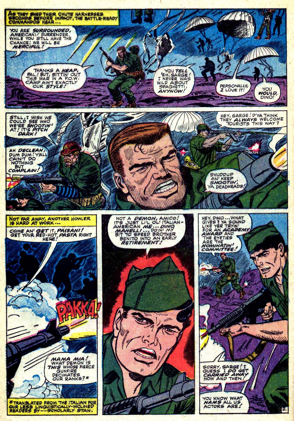 Read online Sgt. Fury comic -  Issue #30 - 4
