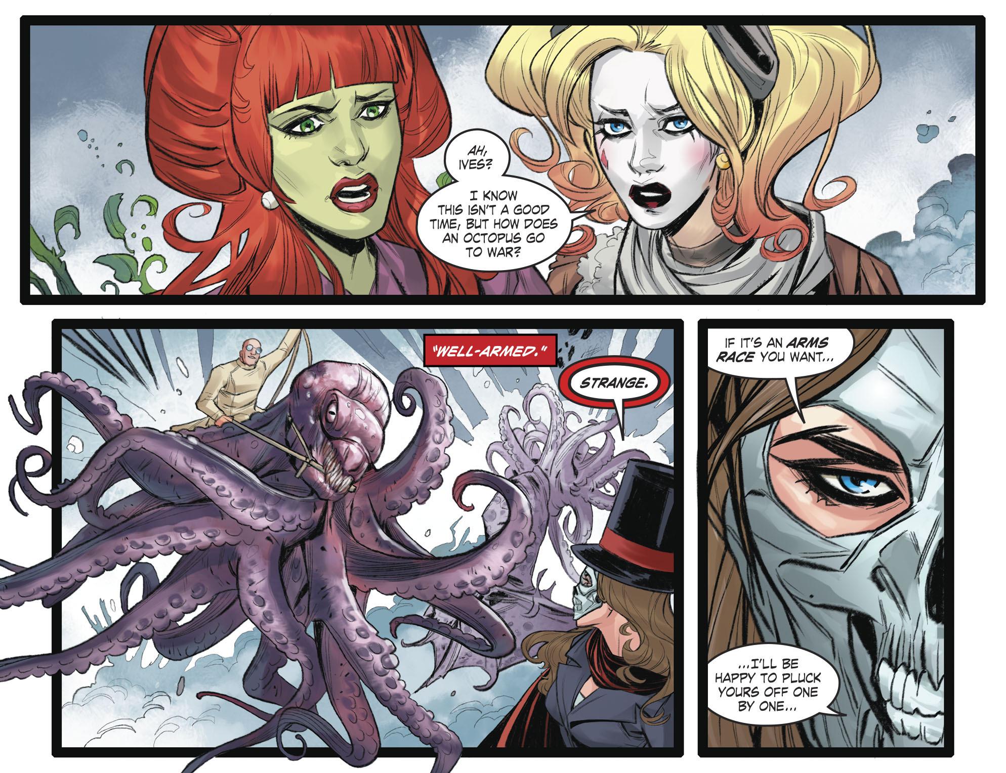 Read online DC Comics: Bombshells comic -  Issue #93 - 9
