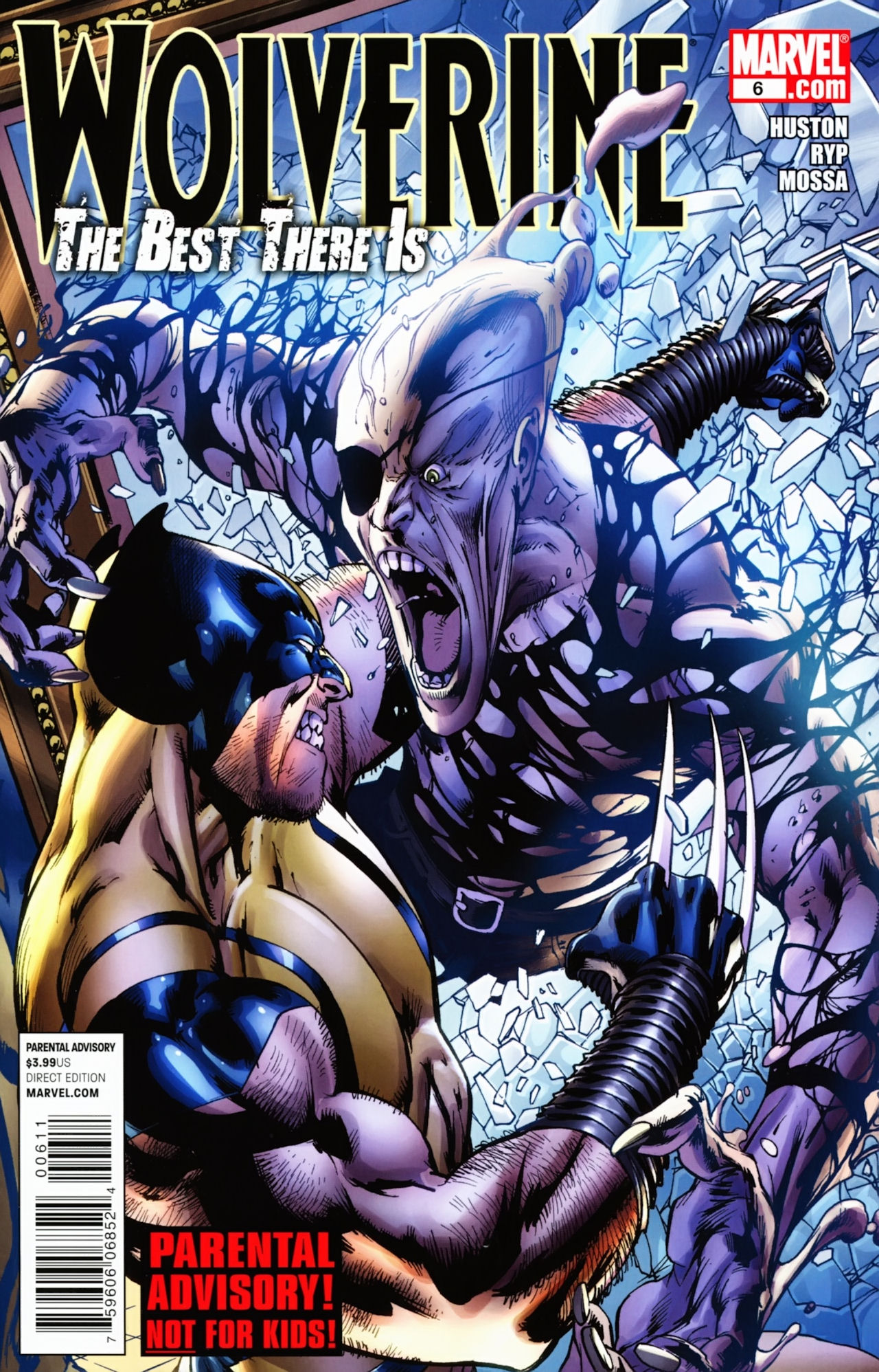 Read online Wolverine: The Best There Is comic -  Issue #6 - 1