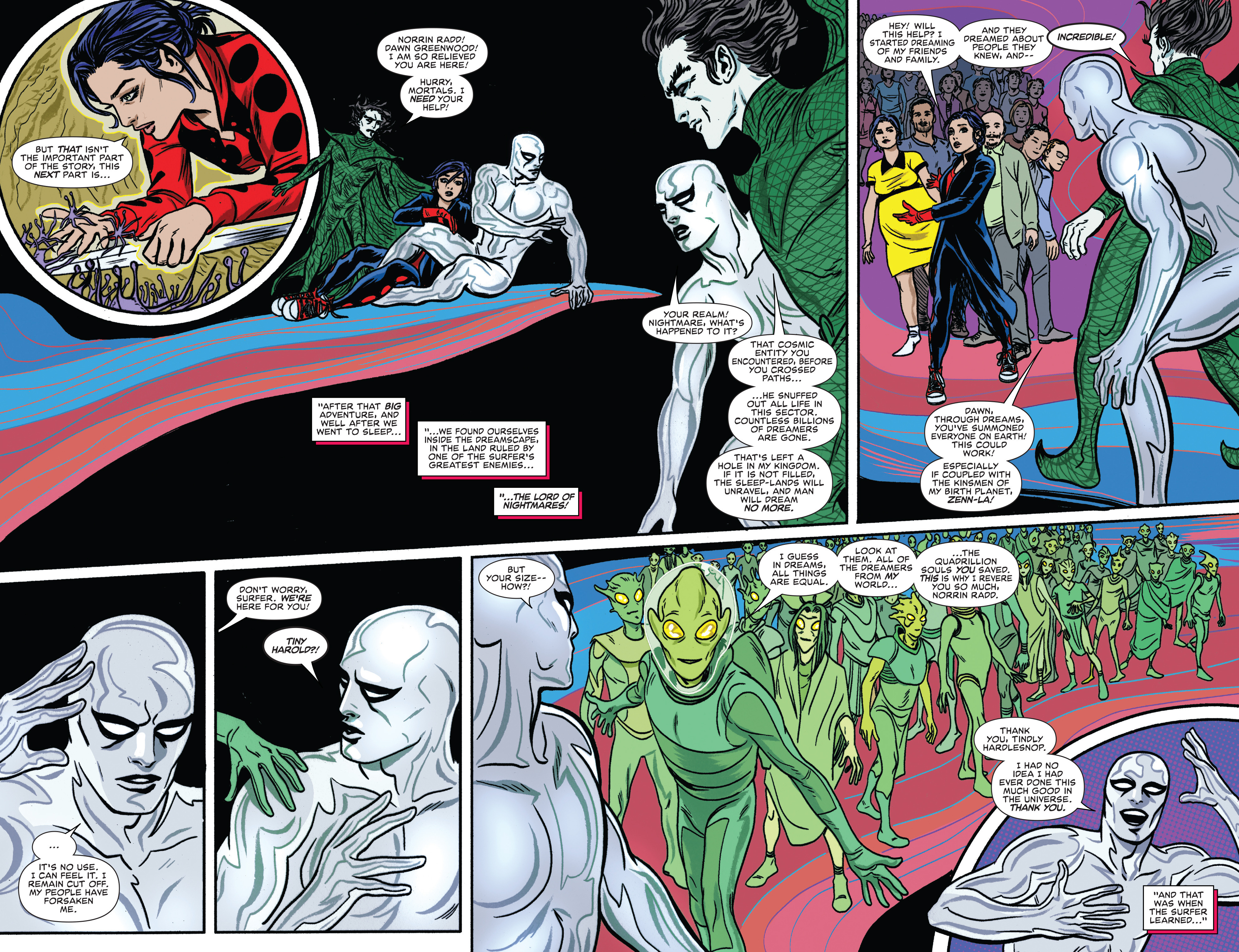 Read online Silver Surfer (2016) comic -  Issue #8 - 11