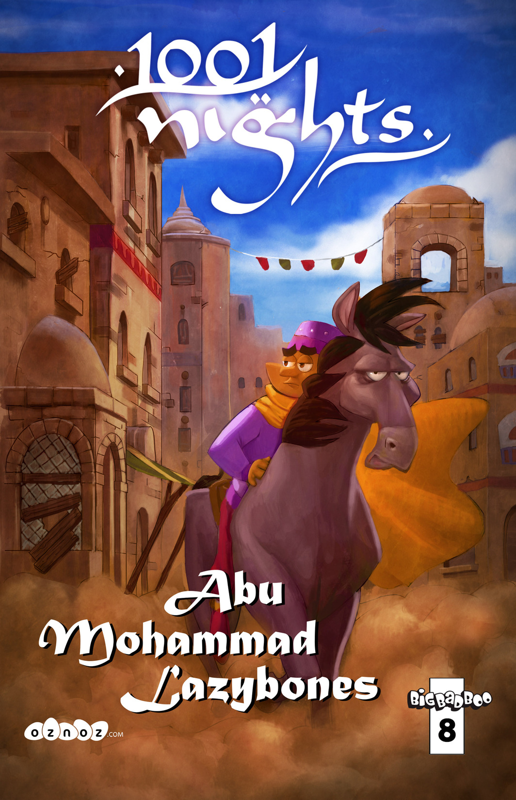 Read online 1001 Nights comic -  Issue #8 - 1