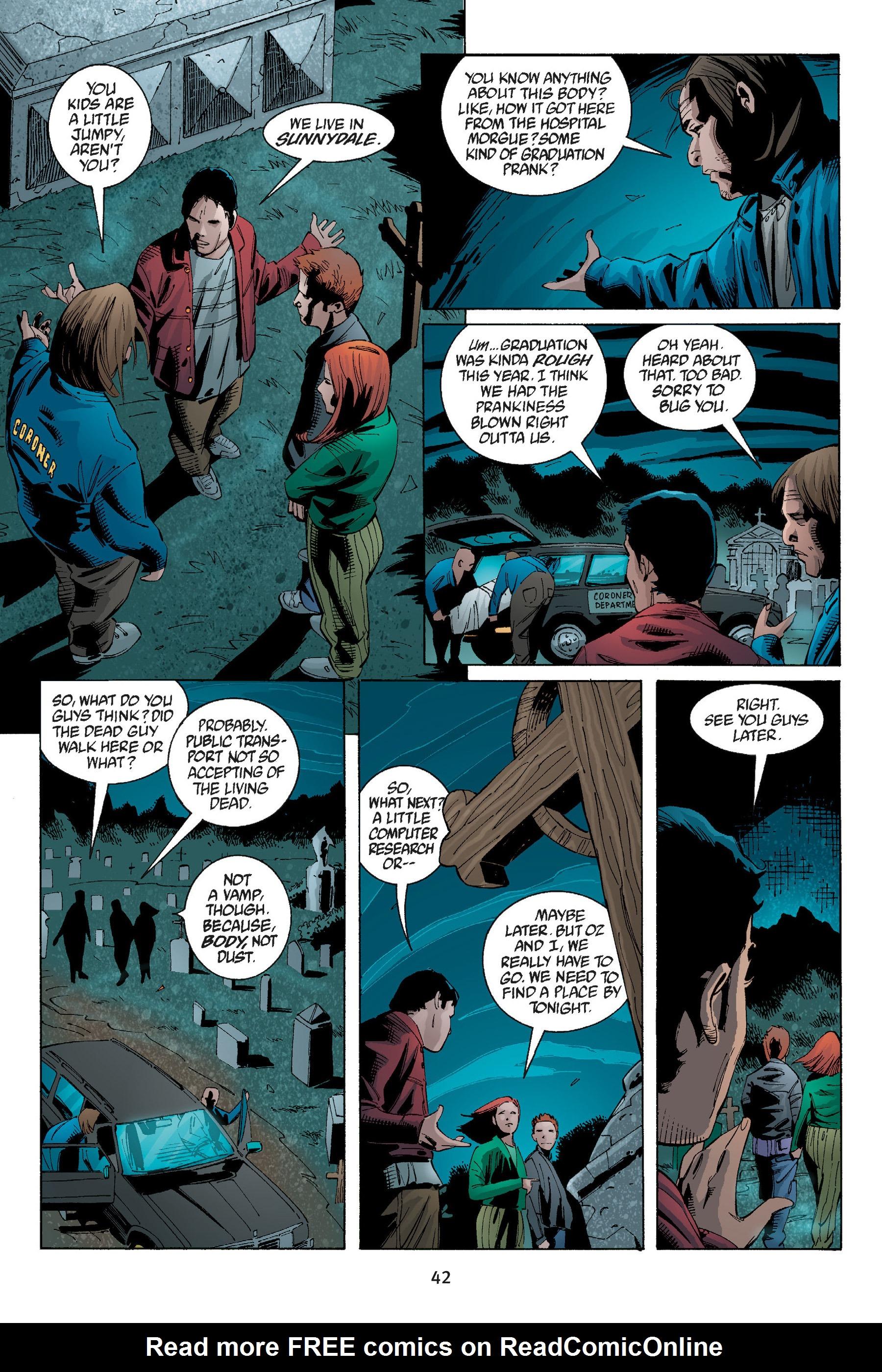 Read online Buffy the Vampire Slayer: Omnibus comic -  Issue # TPB 5 - 43