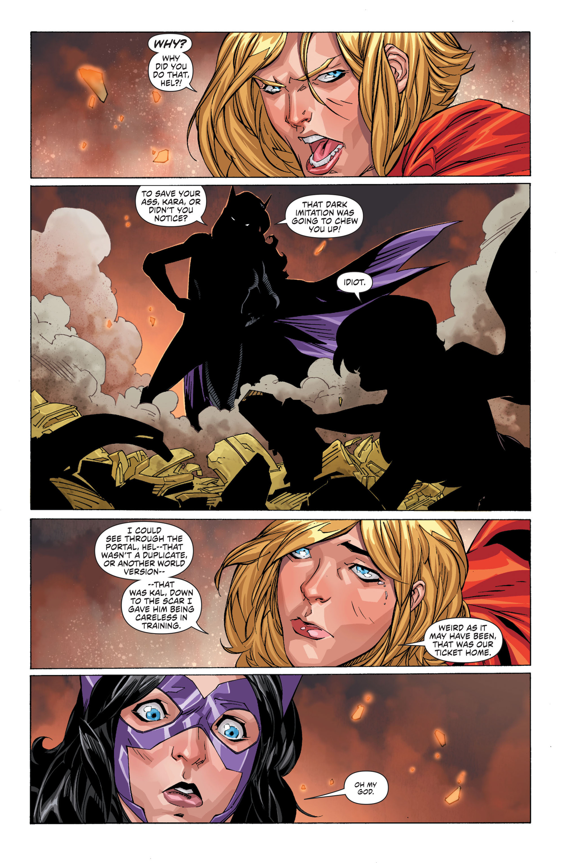 Read online Worlds' Finest comic -  Issue #21 - 19