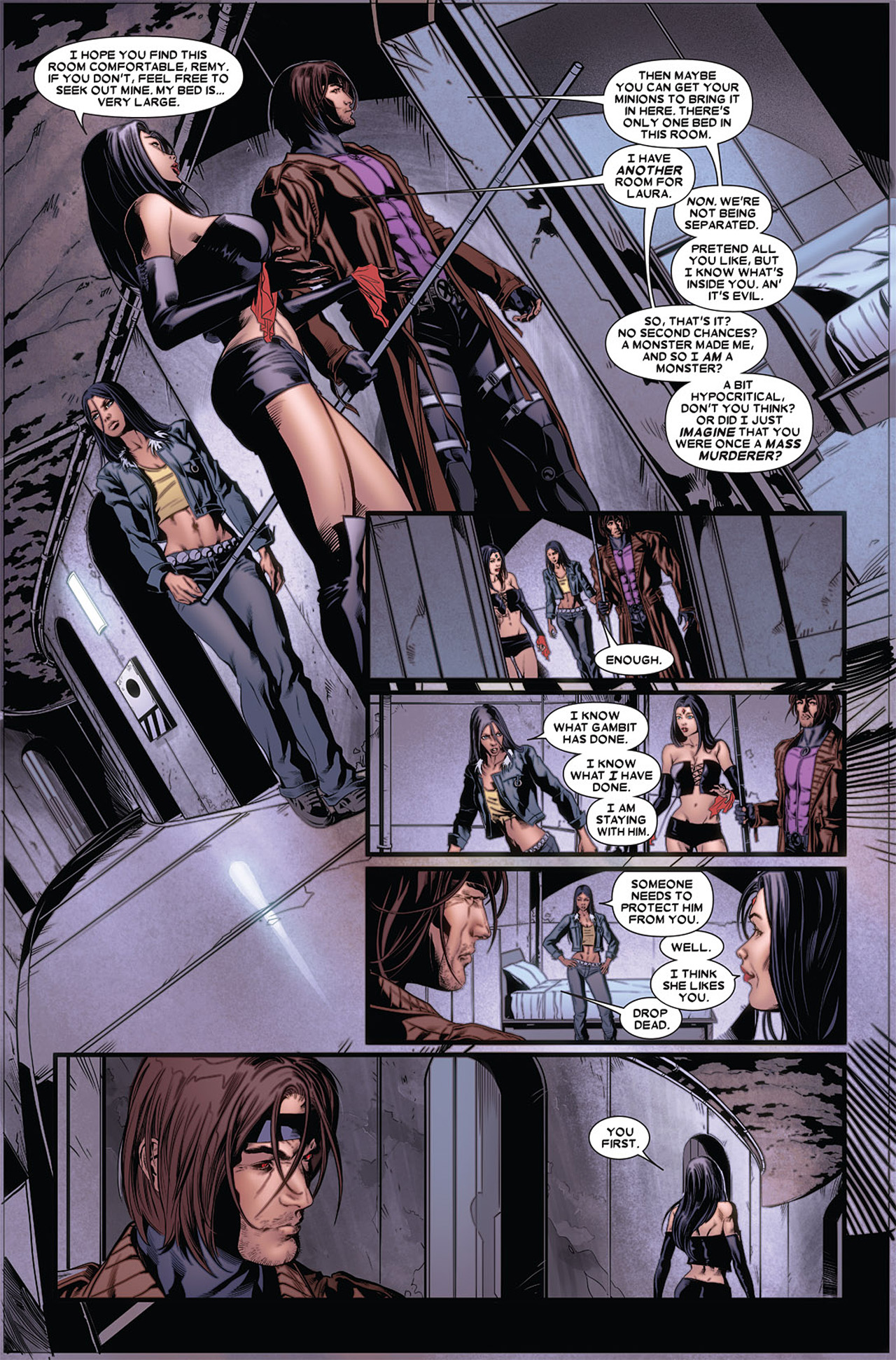 Read online X-23 (2010) comic -  Issue #5 - 10