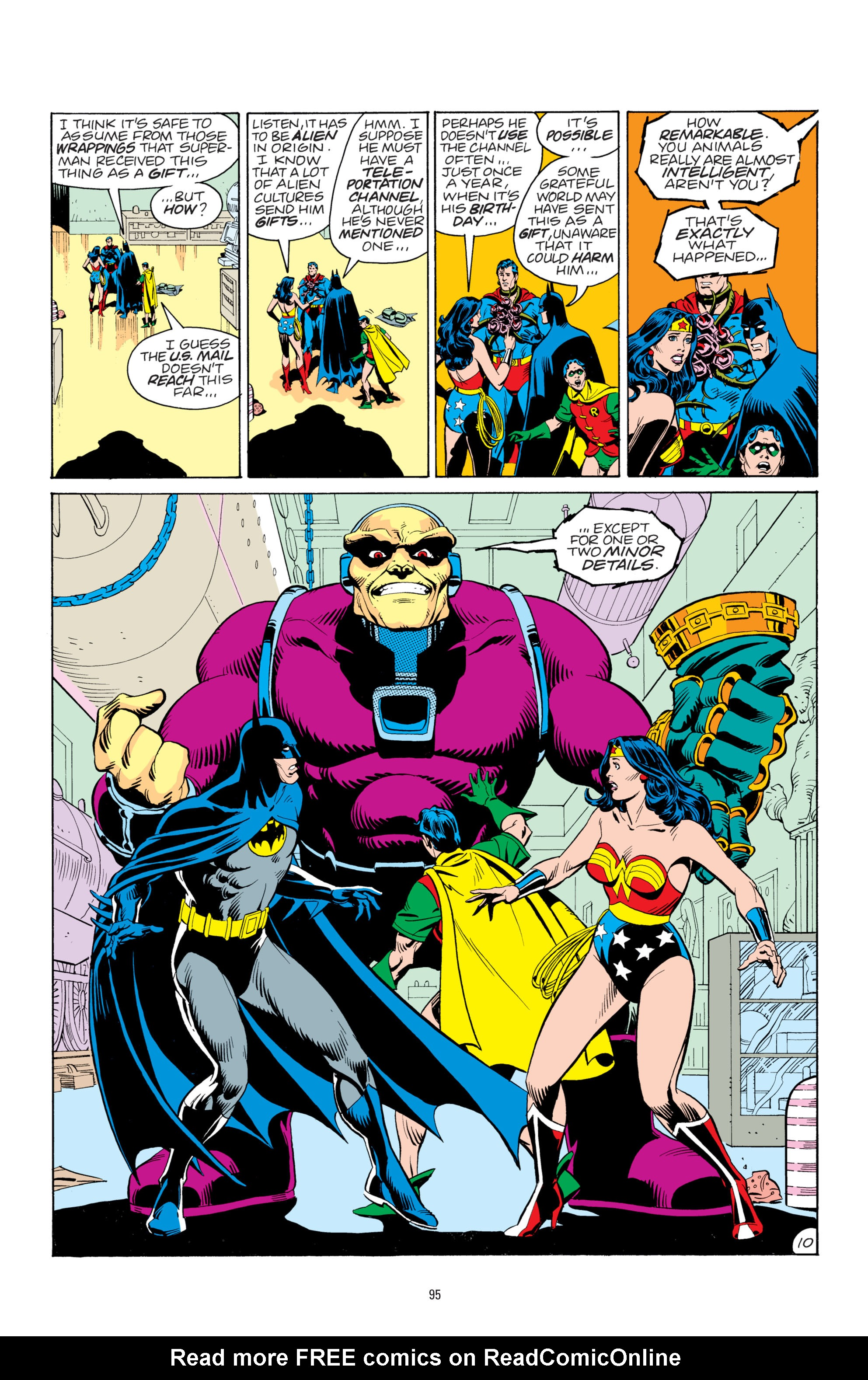 Read online Superman: Whatever Happened to the Man of Tomorrow? comic -  Issue # TPB - 94