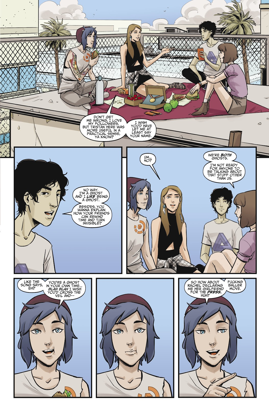 Read online Life is Strange comic -  Issue #10 - 17