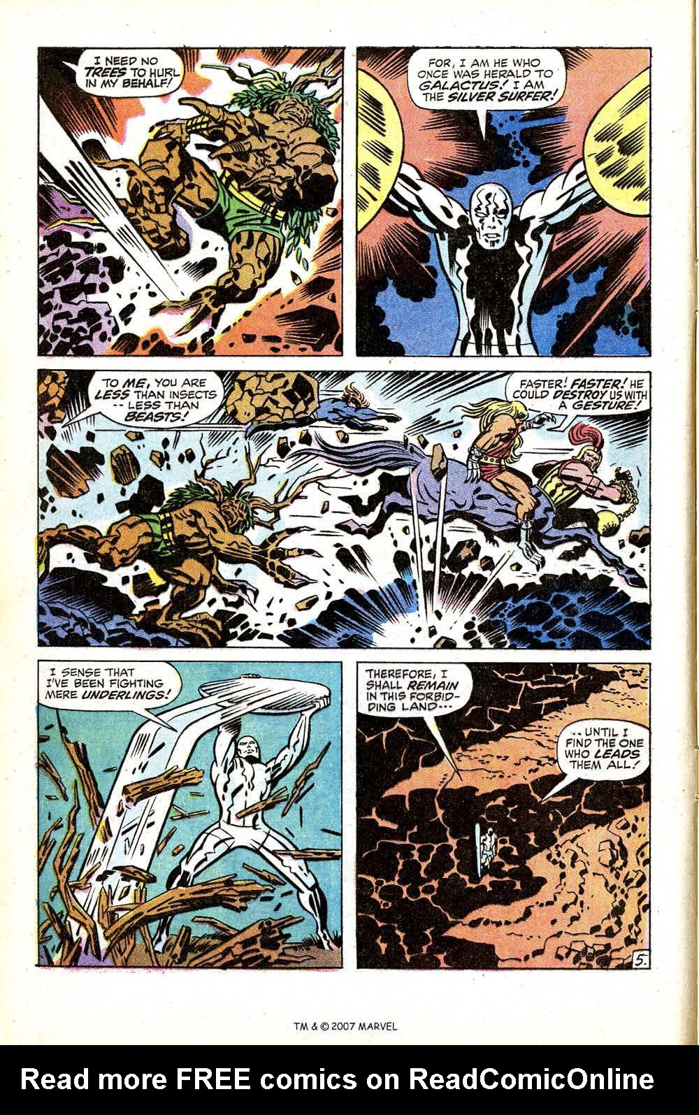 Silver Surfer (1968) issue 18 - Page 8