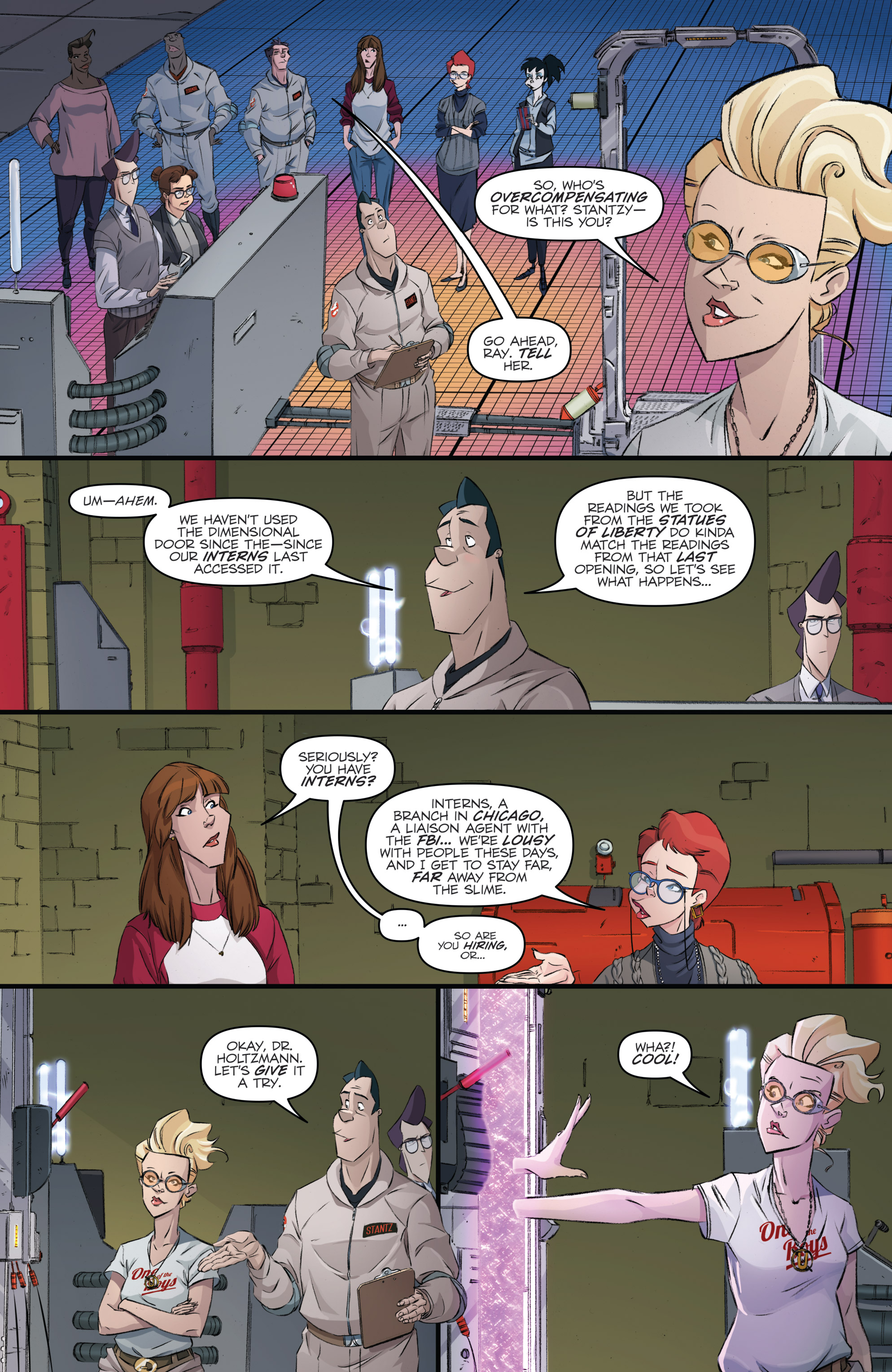Read online Ghostbusters 101 comic -  Issue #3 - 18