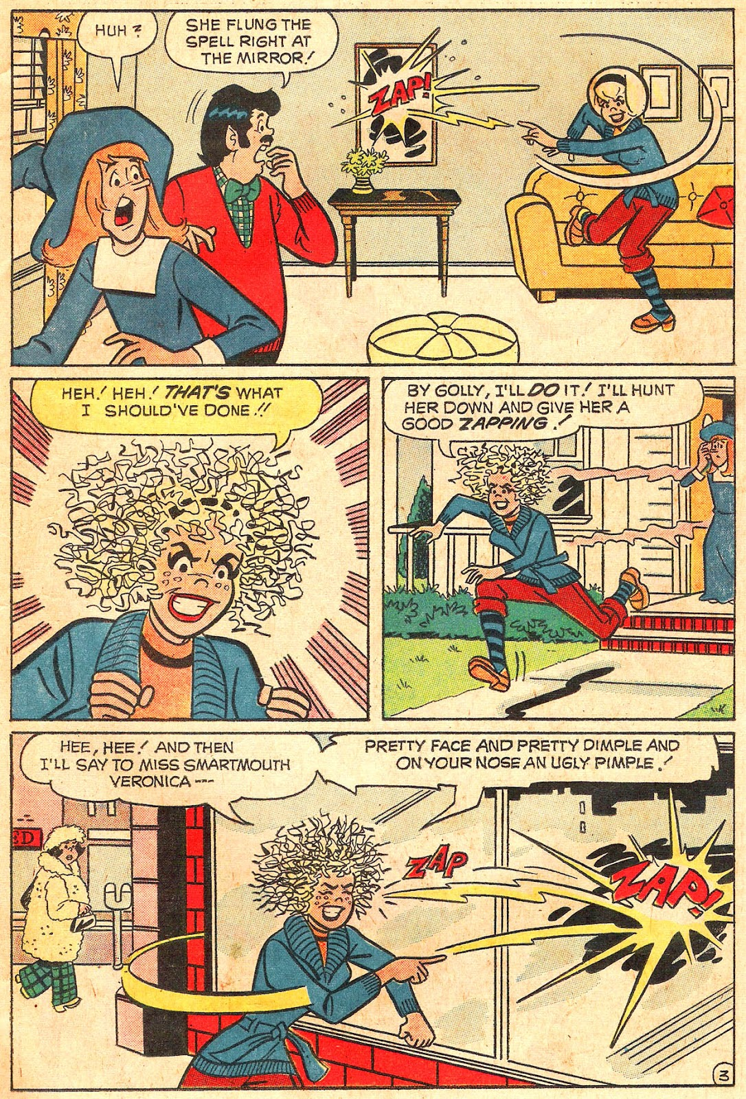 Sabrina The Teenage Witch (1971) Issue #17 #17 - English 15