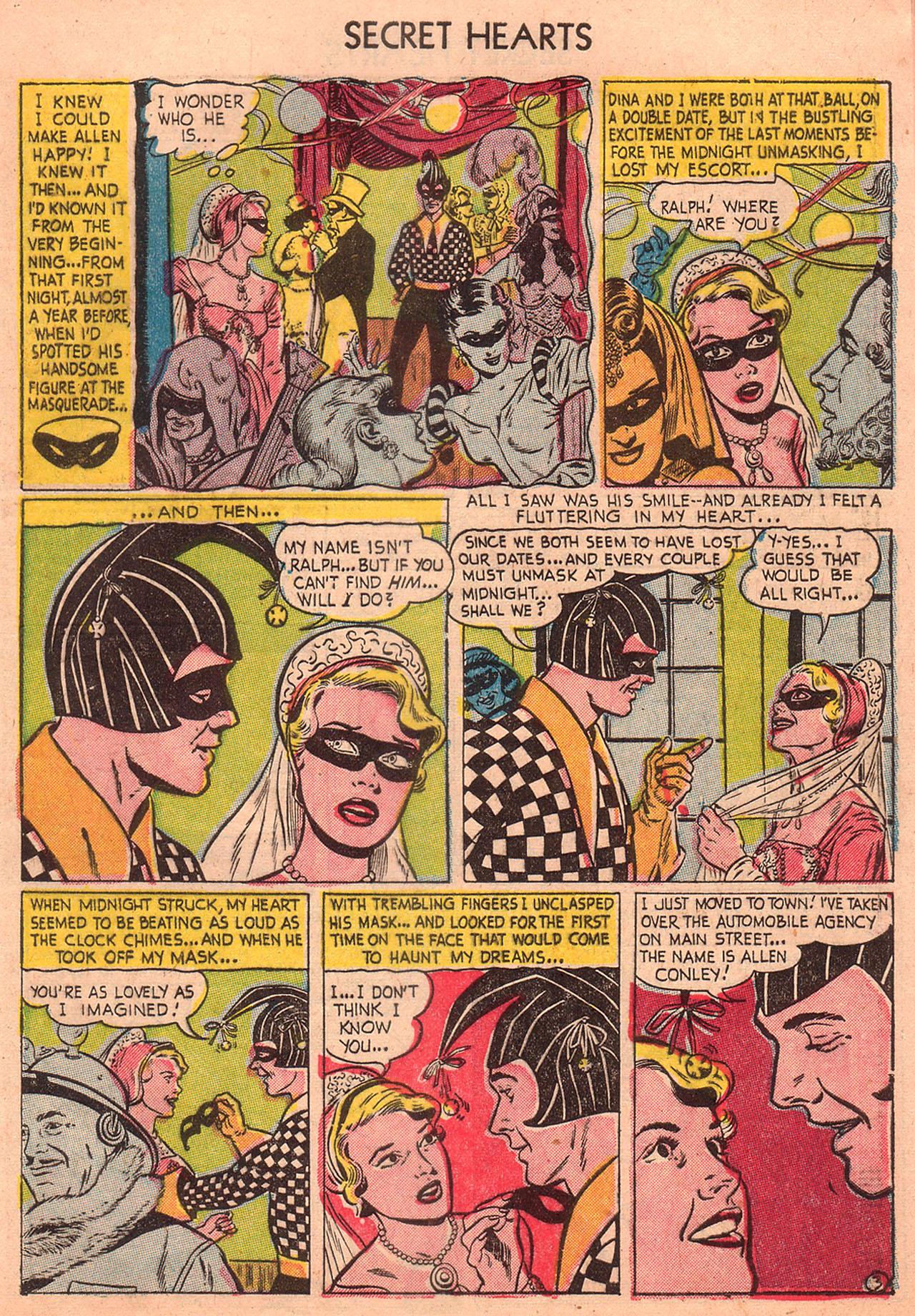 Read online Secret Hearts comic -  Issue #23 - 5