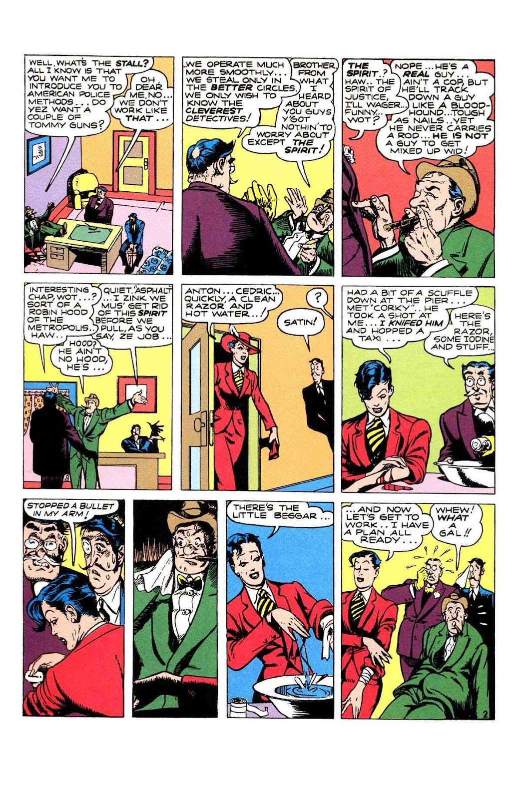 Read online Will Eisner's The Spirit Archives comic -  Issue # TPB 2 (Part 1) - 82