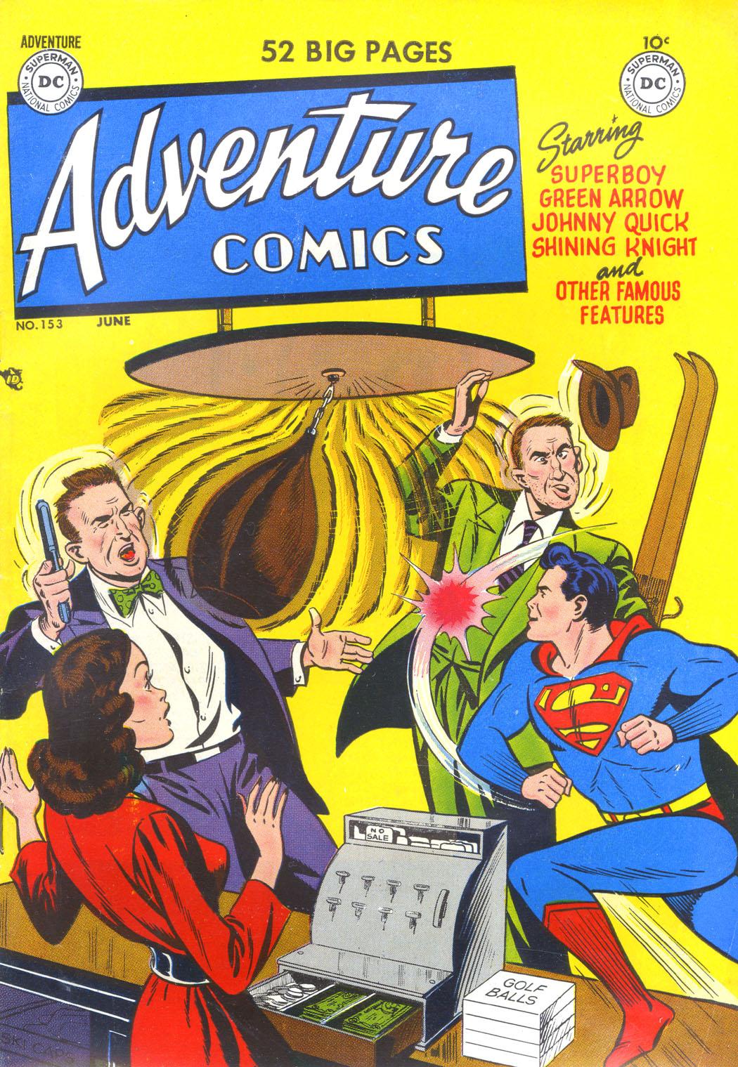 Read online Adventure Comics (1938) comic -  Issue #153 - 1