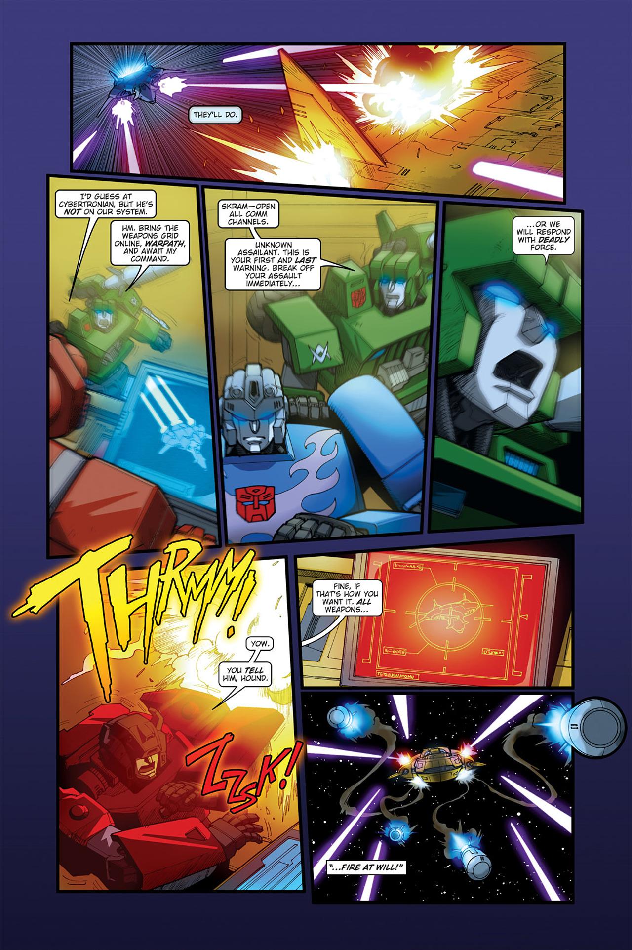 Read online Transformers Spotlight: Cyclonus comic -  Issue # Full - 9