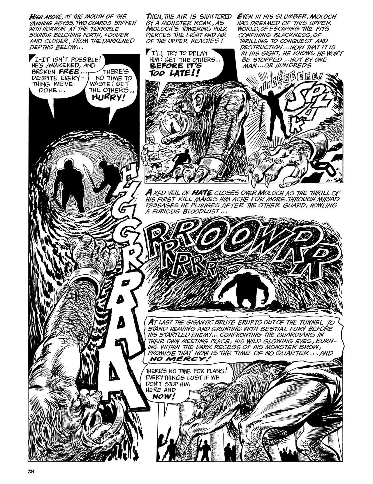 Read online Eerie Archives comic -  Issue # TPB 3 - 235