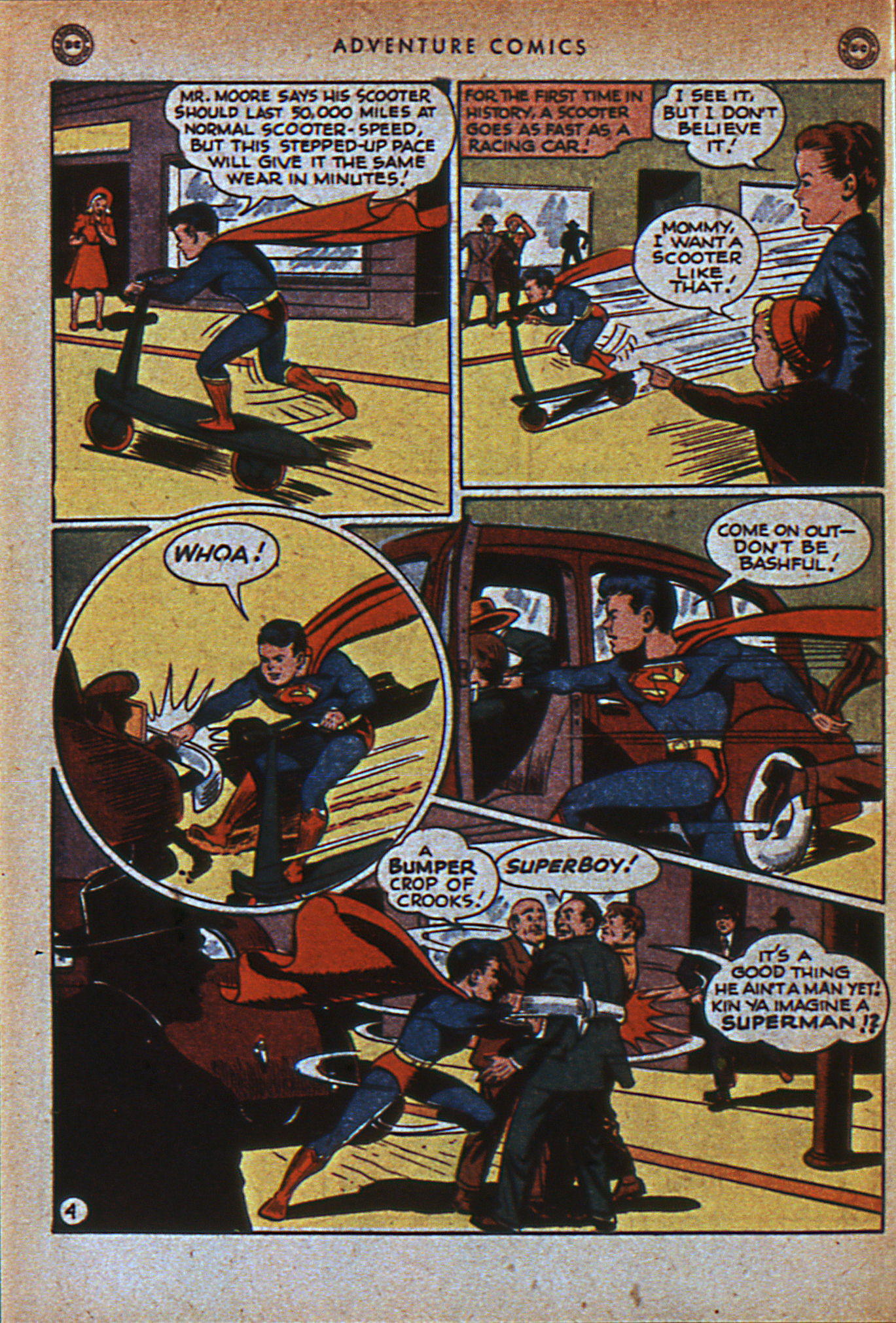 Read online Adventure Comics (1938) comic -  Issue #116 - 7