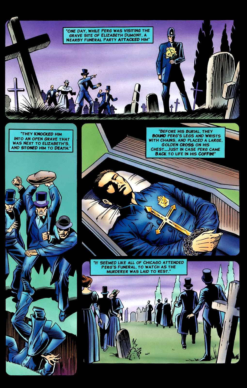 Read online Perg comic -  Issue #8 - 21