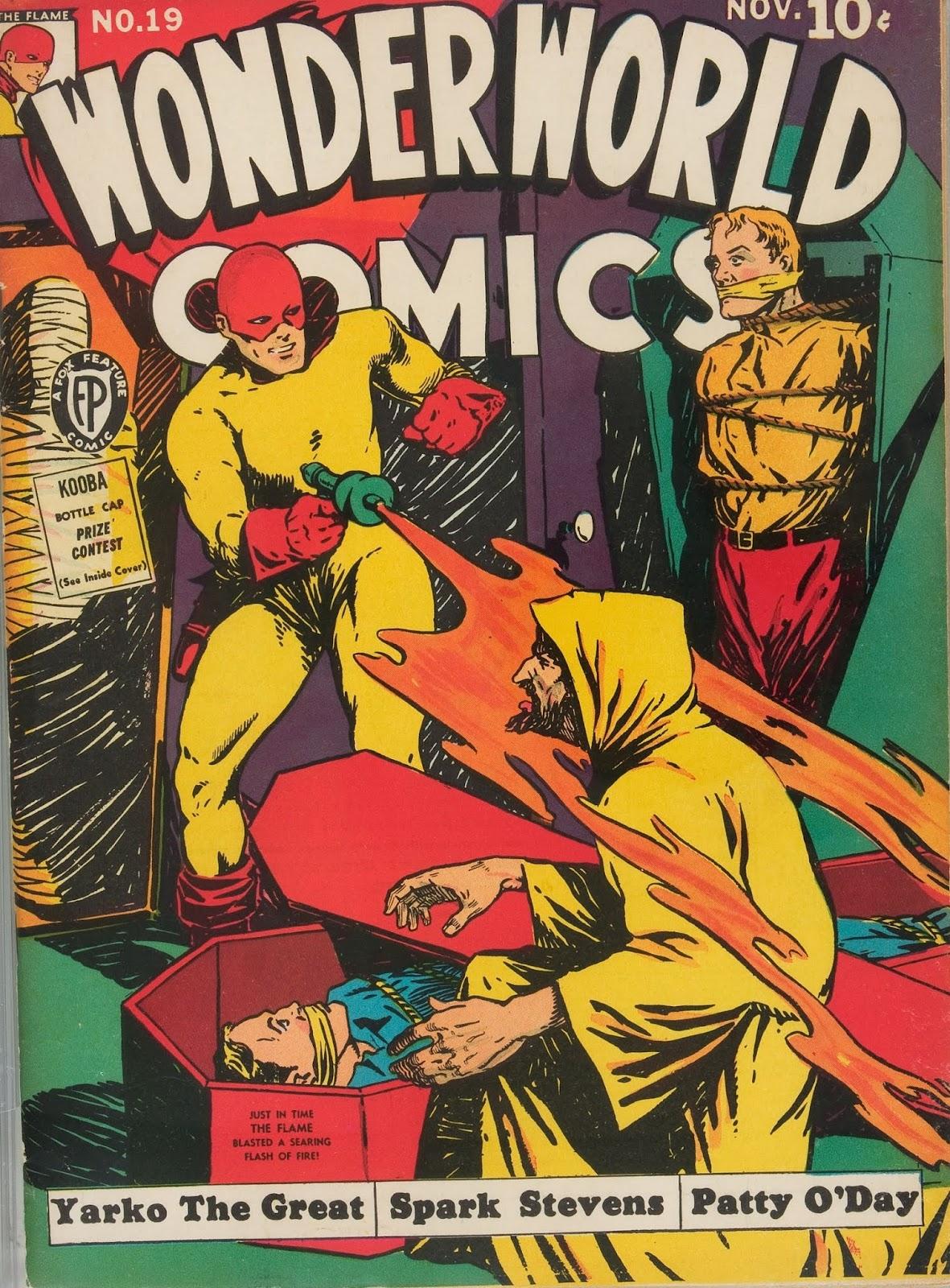 Wonderworld Comics issue 19 - Page 1