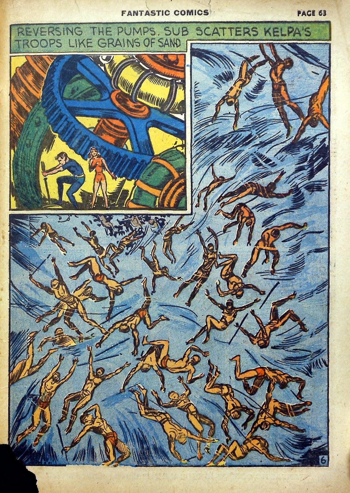 Read online Fantastic Comics comic -  Issue #5 - 64