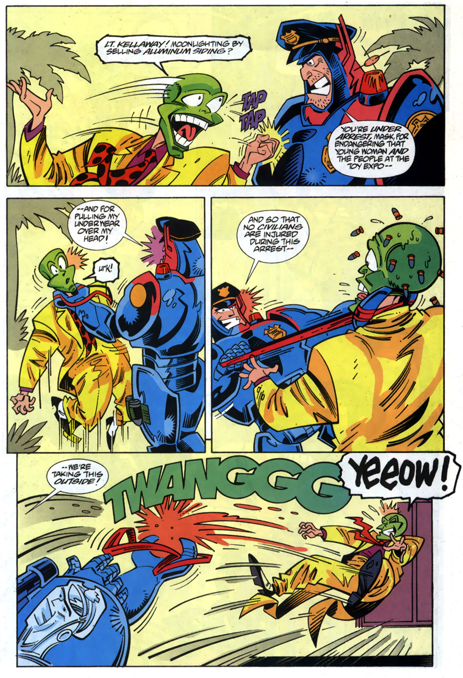 Read online Adventures Of The Mask comic -  Issue #6 - 18