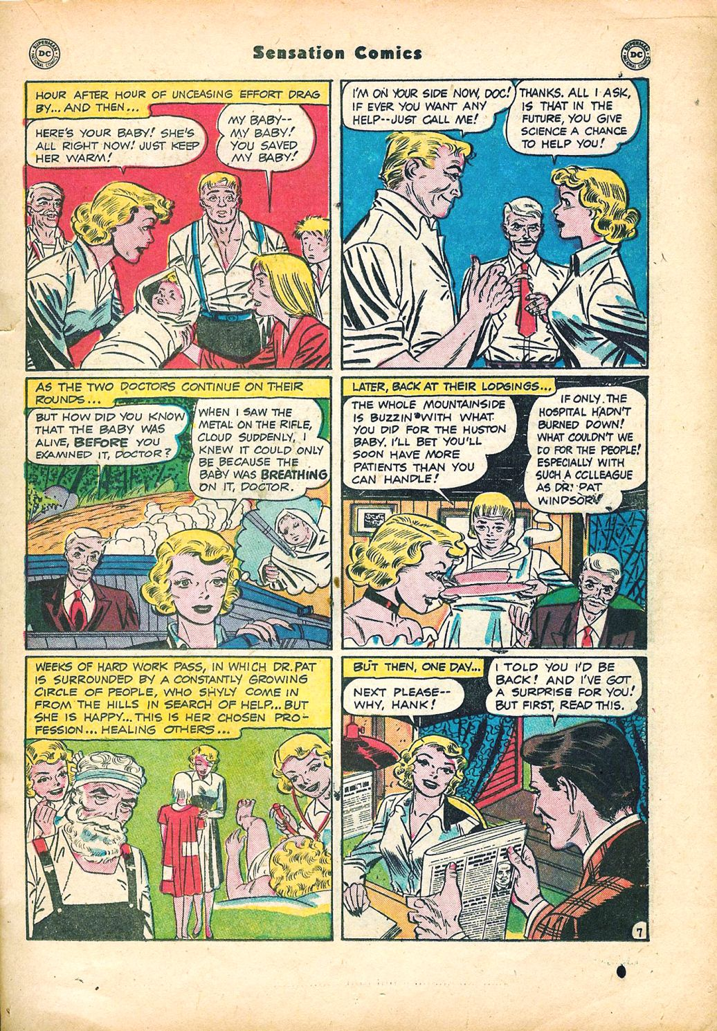 Read online Sensation (Mystery) Comics comic -  Issue #95 - 21