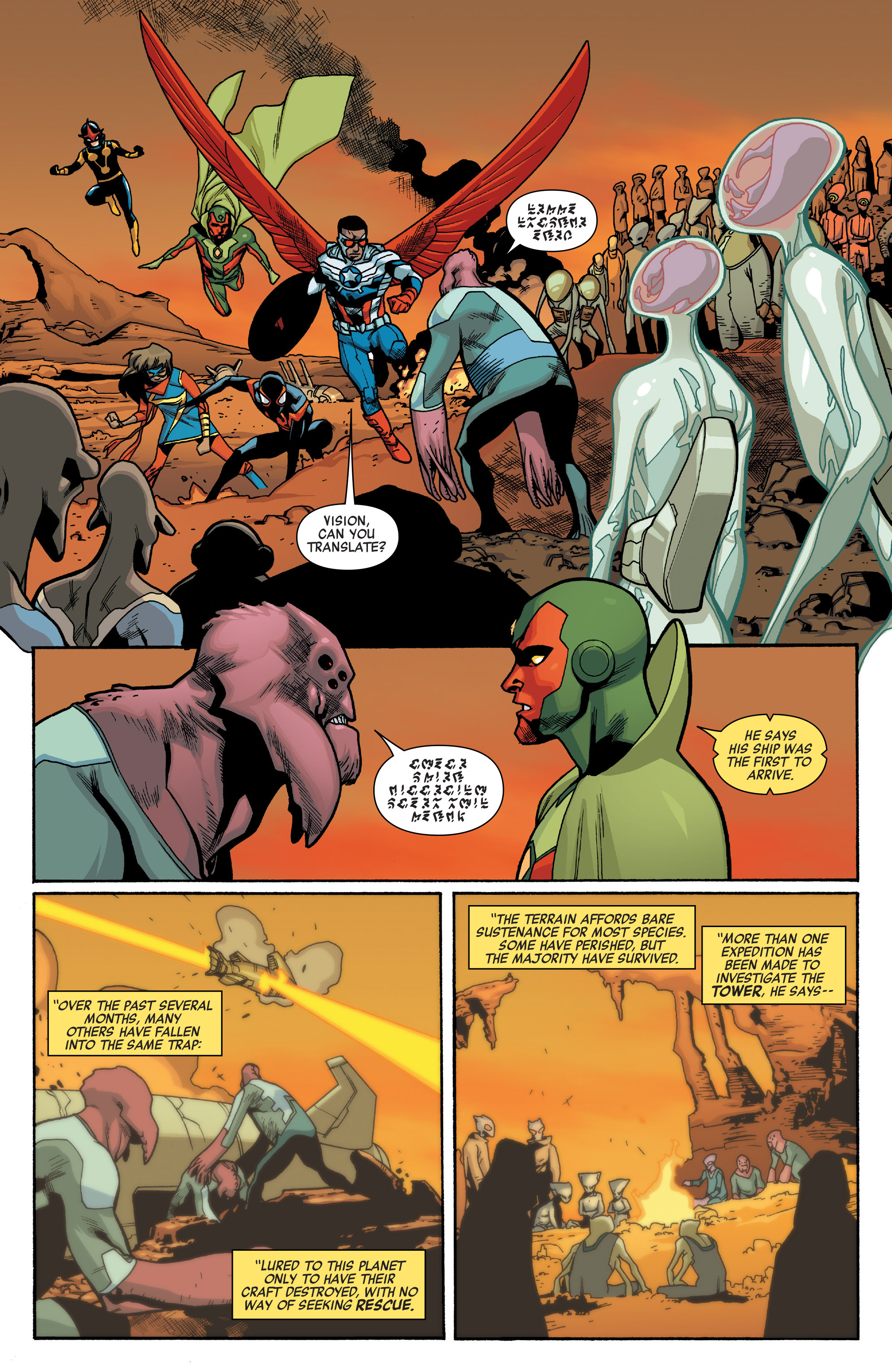 Read online All-New, All-Different Avengers comic -  Issue #10 - 9
