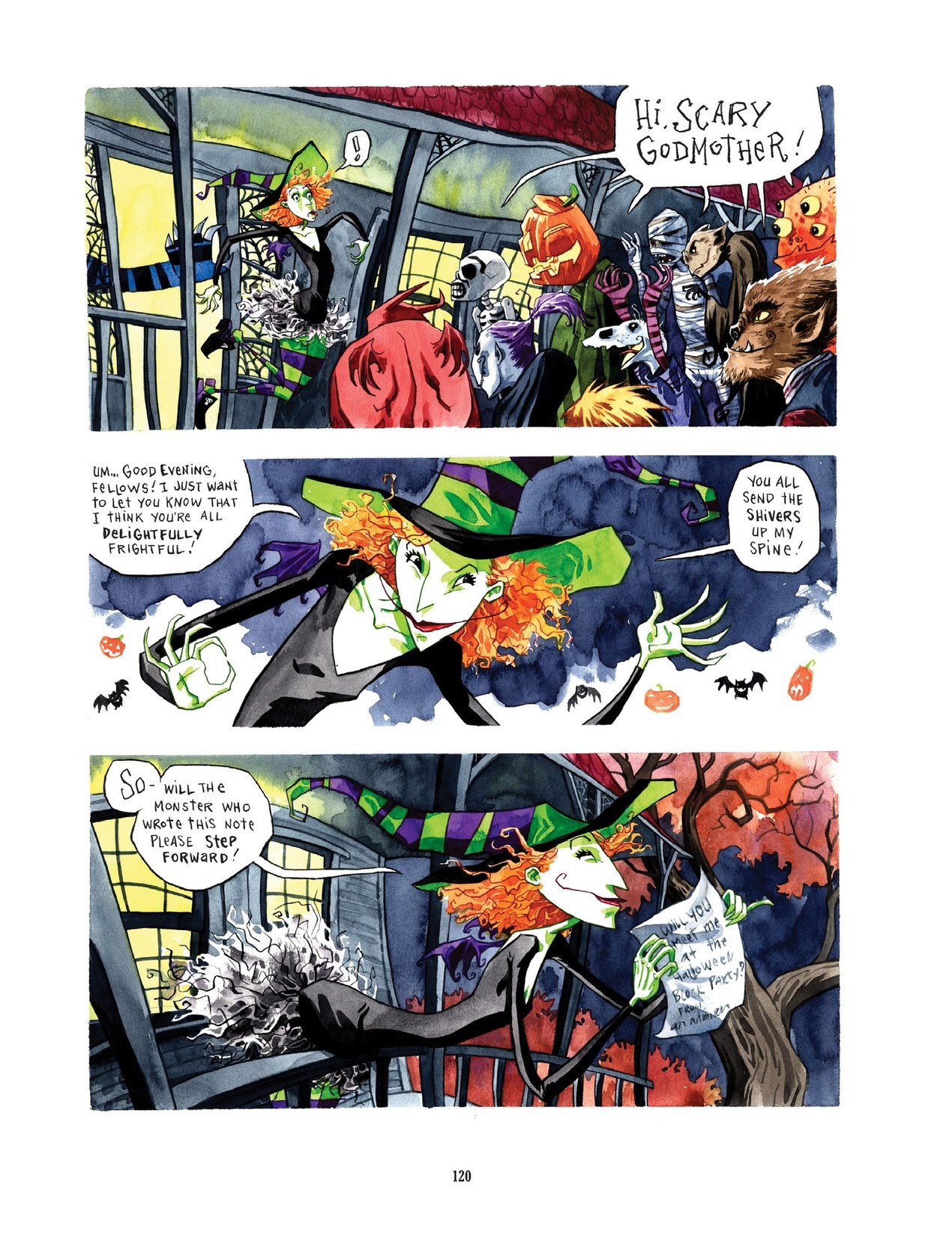Read online Scary Godmother comic -  Issue # TPB - 120