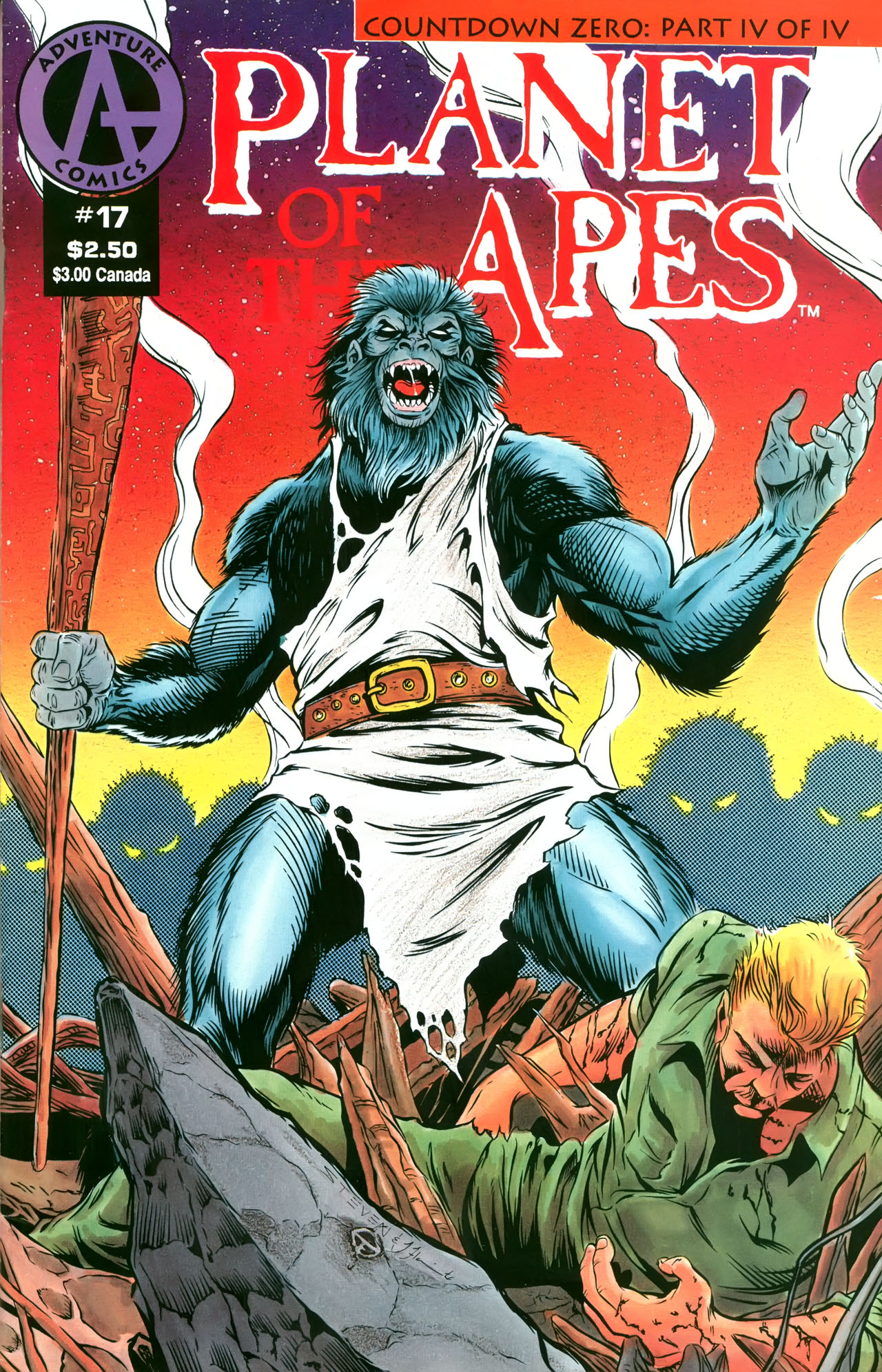Planet of the Apes (1990) 17 Page 1