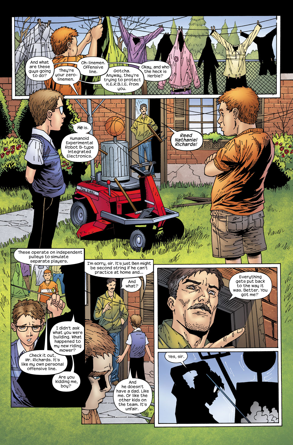 Read online Ultimate Fantastic Four (2004) comic -  Issue #58 - 17