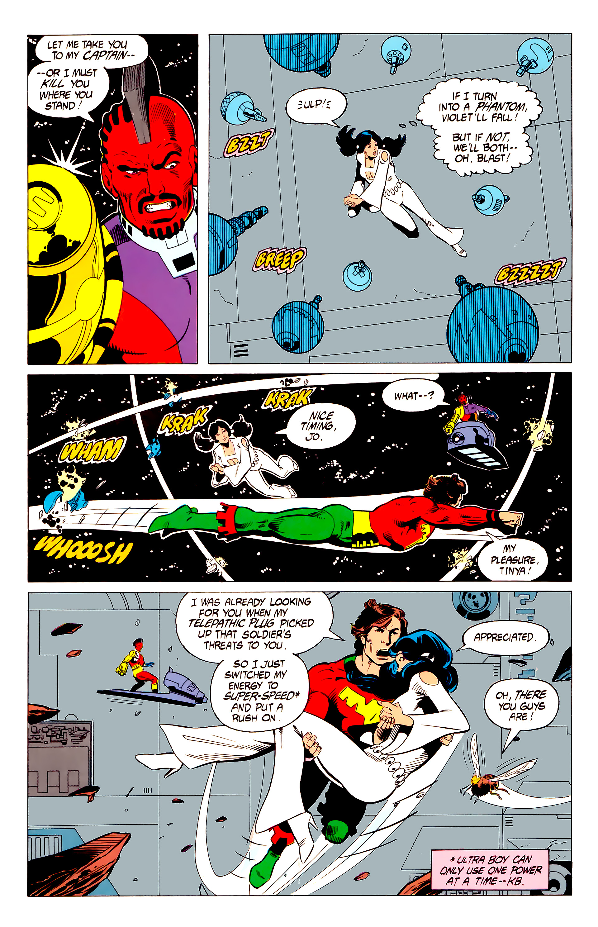 Legion of Super-Heroes (1984) 19 Page 18