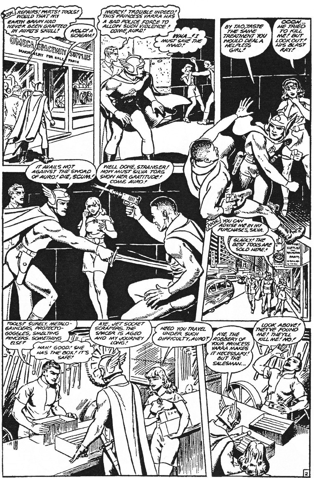 Read online Men of Mystery Comics comic -  Issue #84 - 164