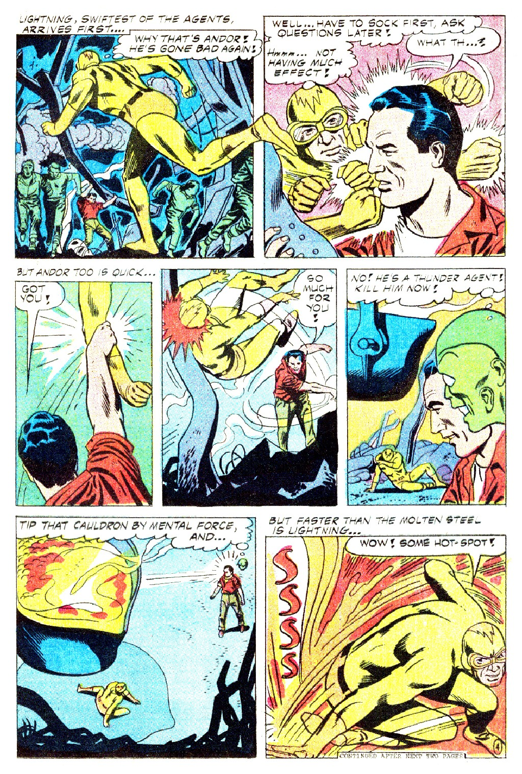 T.H.U.N.D.E.R. Agents (1965) issue 9 - Page 17