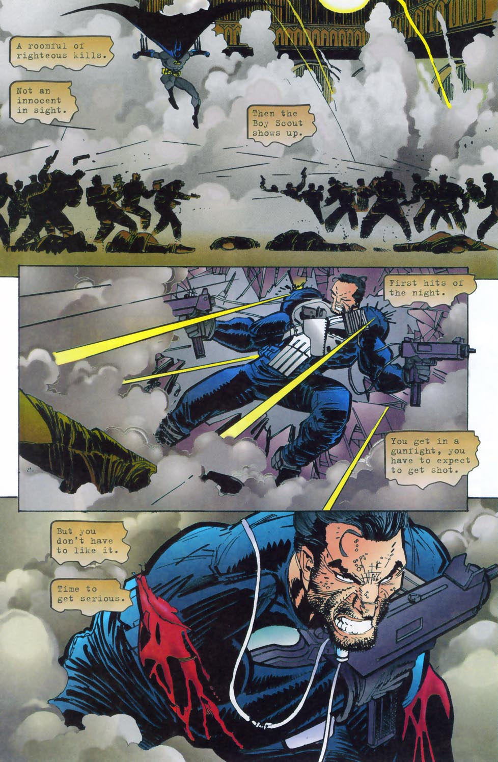 Read online Punisher/Batman: Deadly Knights comic -  Issue # Full - 30
