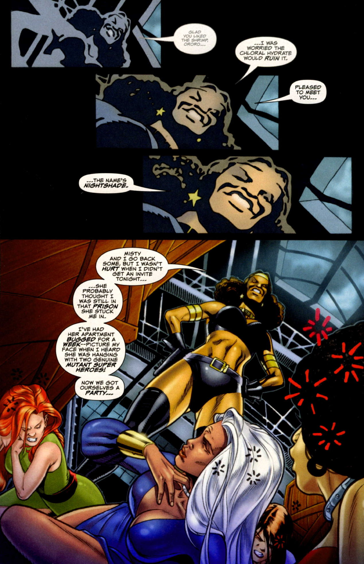 Read online Uncanny X-Men: First Class comic -  Issue #4 - 6