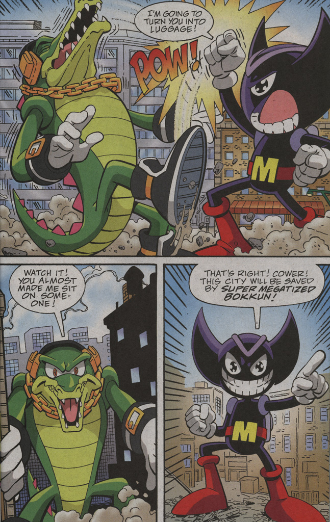 Read online Sonic X comic -  Issue #39 - 17
