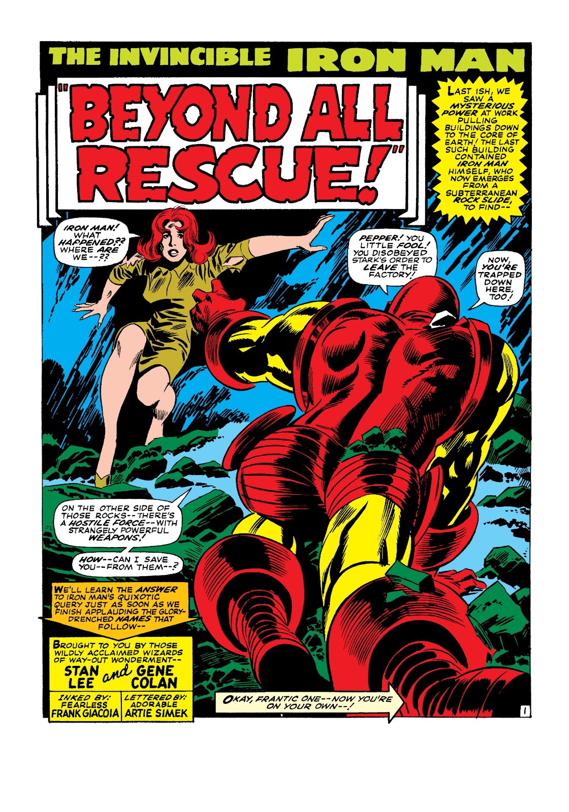 Read online Marvel Masterworks: The Invincible Iron Man comic -  Issue # TPB 4 (Part 1) - 59