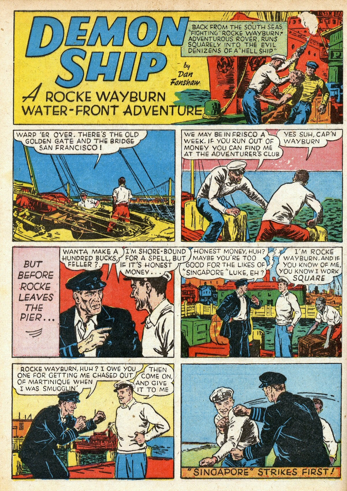 Read online Amazing Man Comics comic -  Issue #16 - 30
