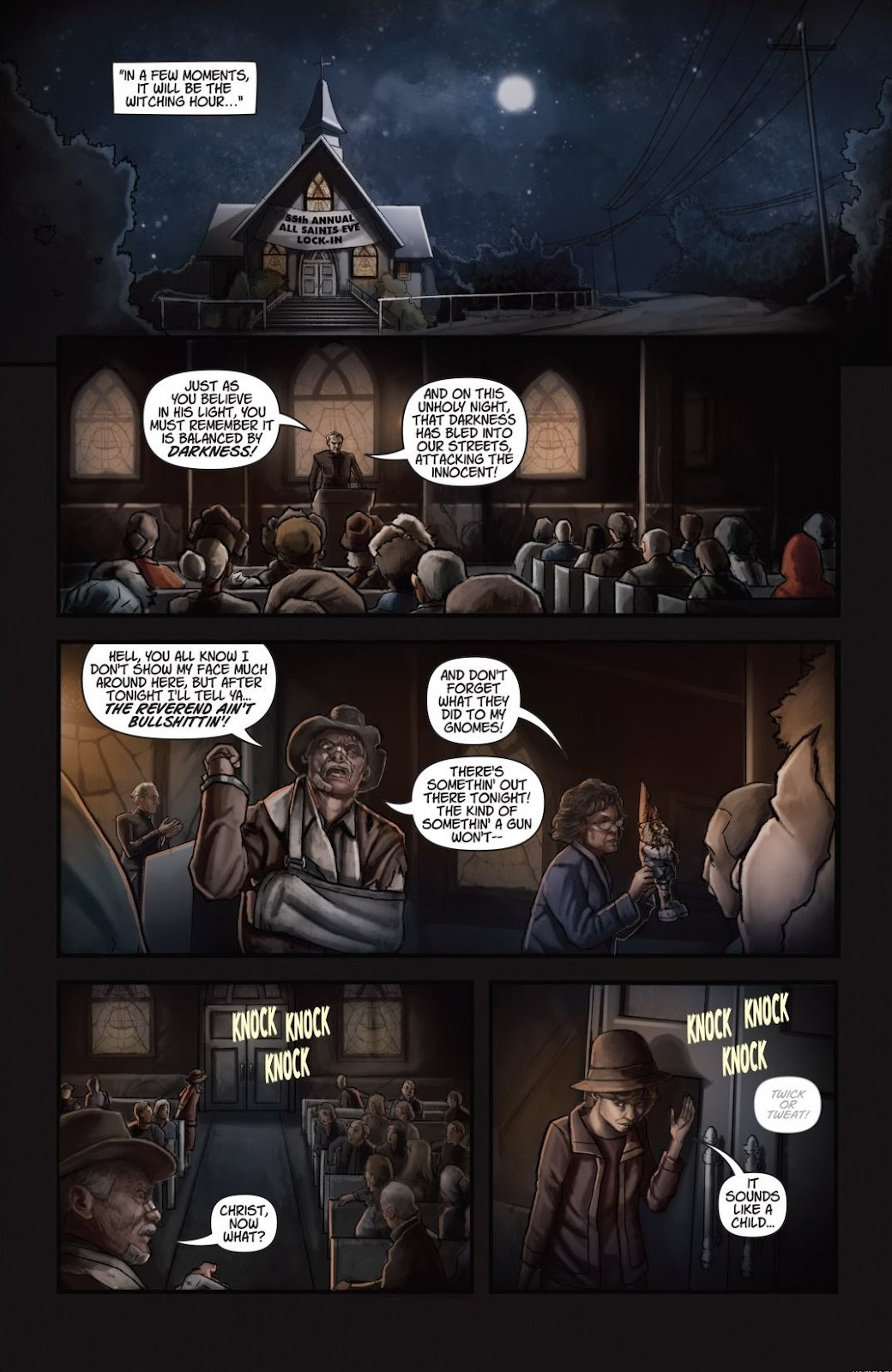 Read online Trick 'r Treat: Days of the Dead comic -  Issue # TPB - 124