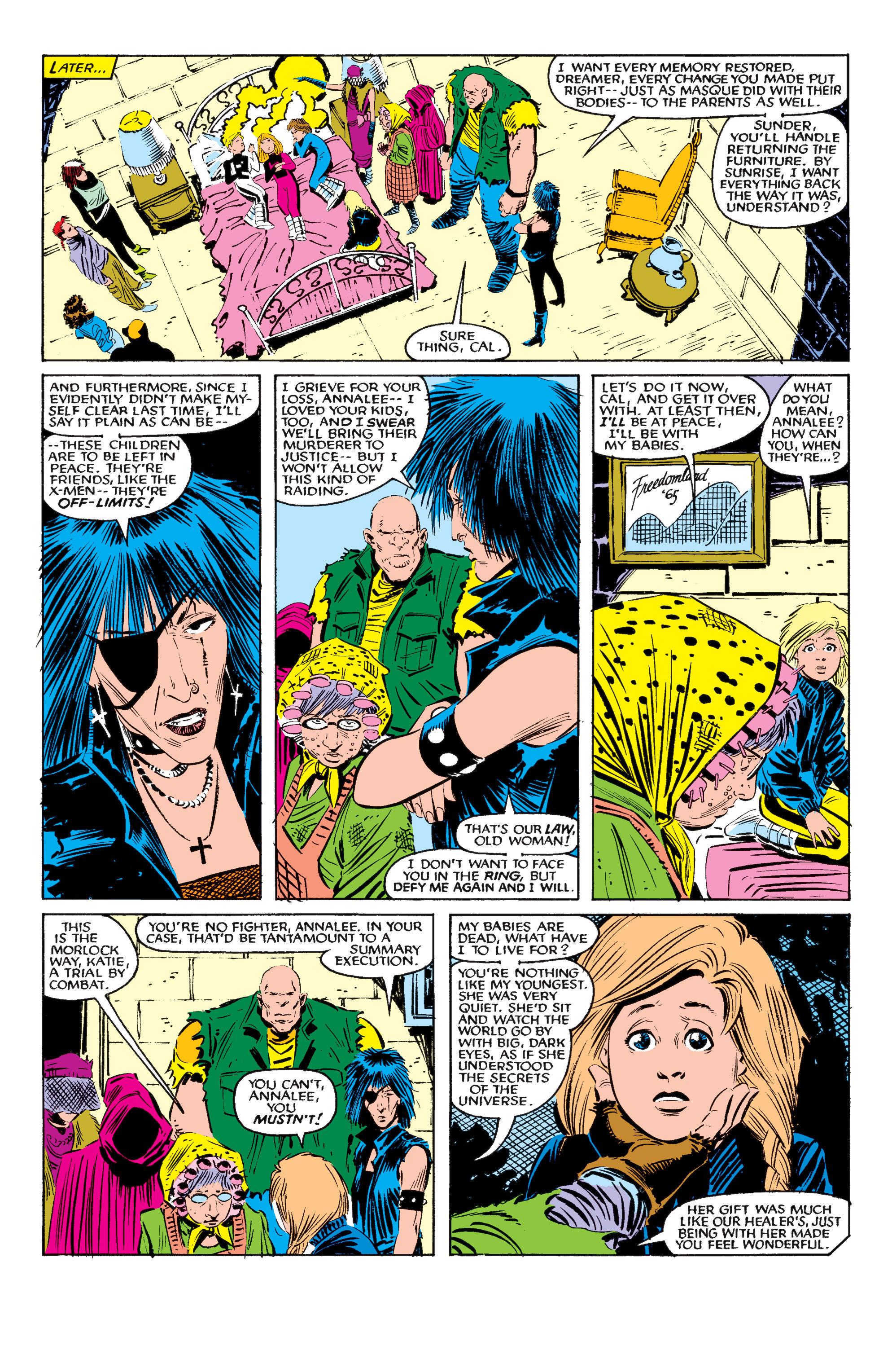 Read online Uncanny X-Men (1963) comic -  Issue #195 - 22