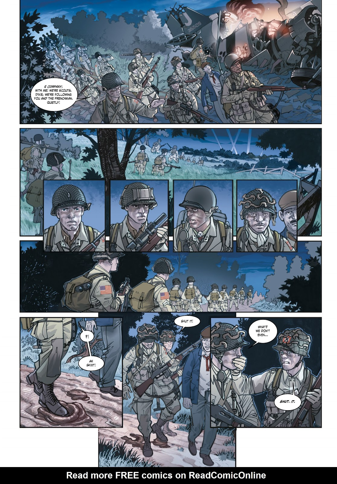 Read online Opération Overlord comic -  Issue #1 - 26