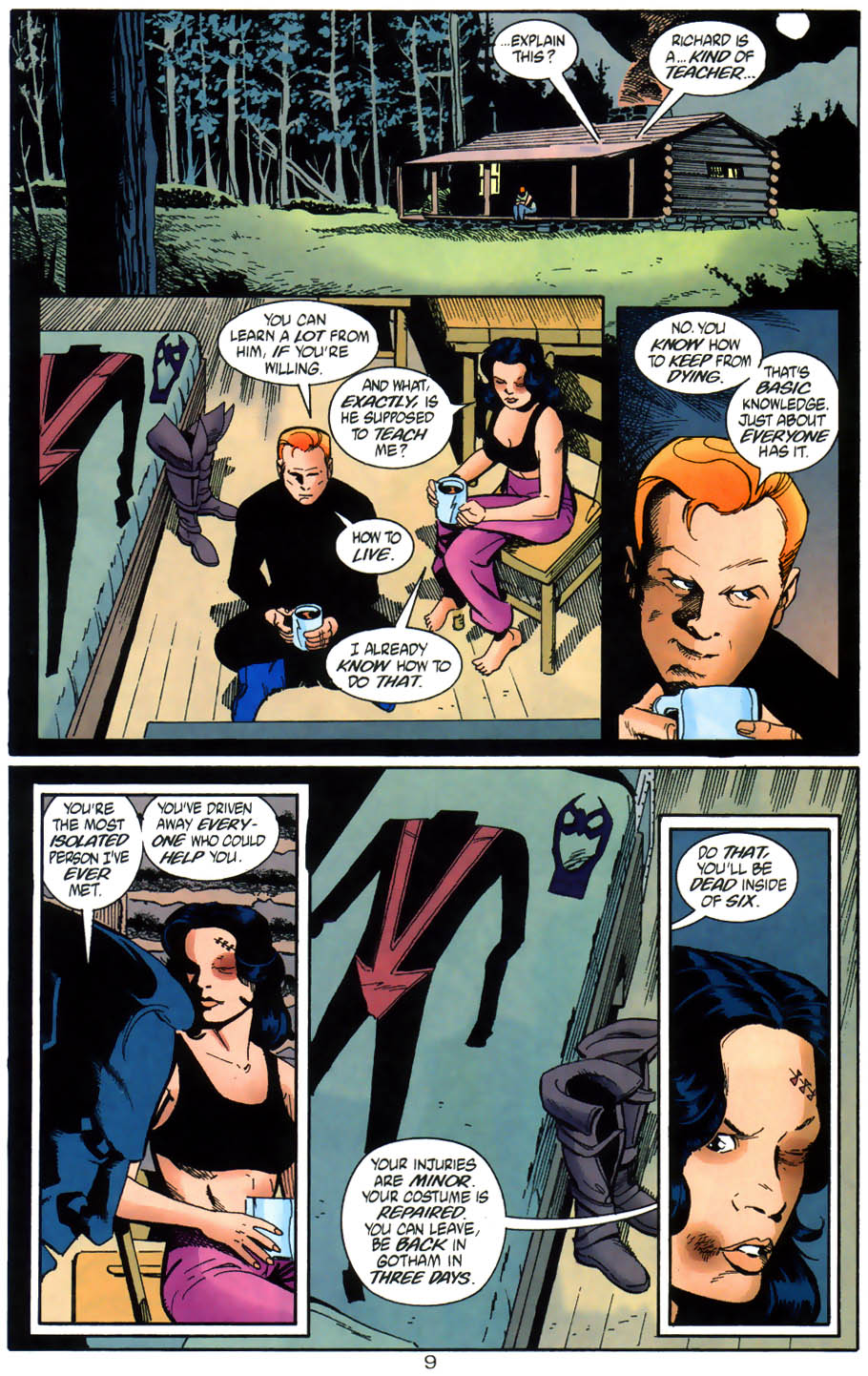 Read online Batman/Huntress: Cry for Blood comic -  Issue #3 - 10