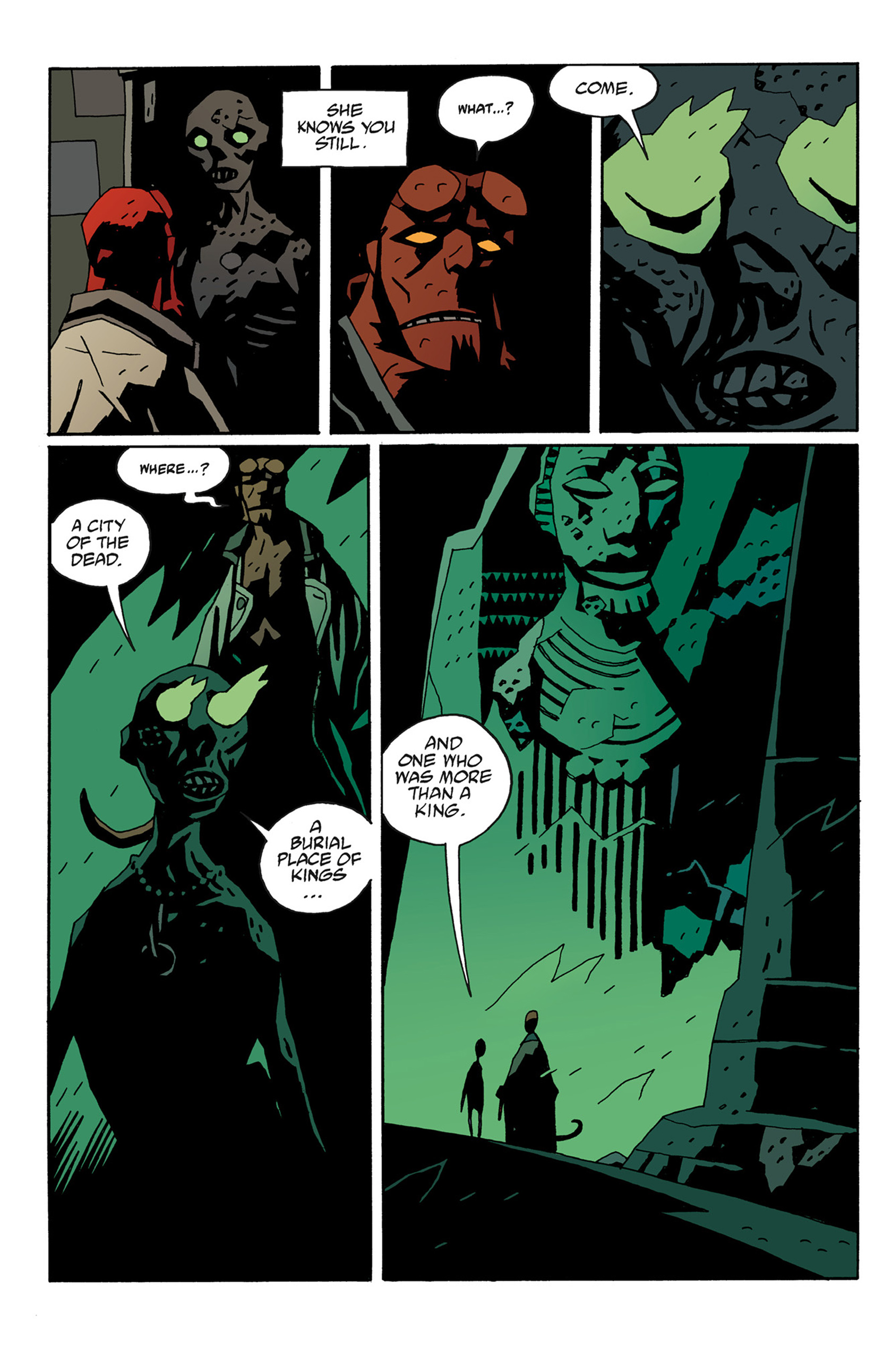Read online Hellboy: The Troll Witch and Others comic -  Issue # TPB - 88