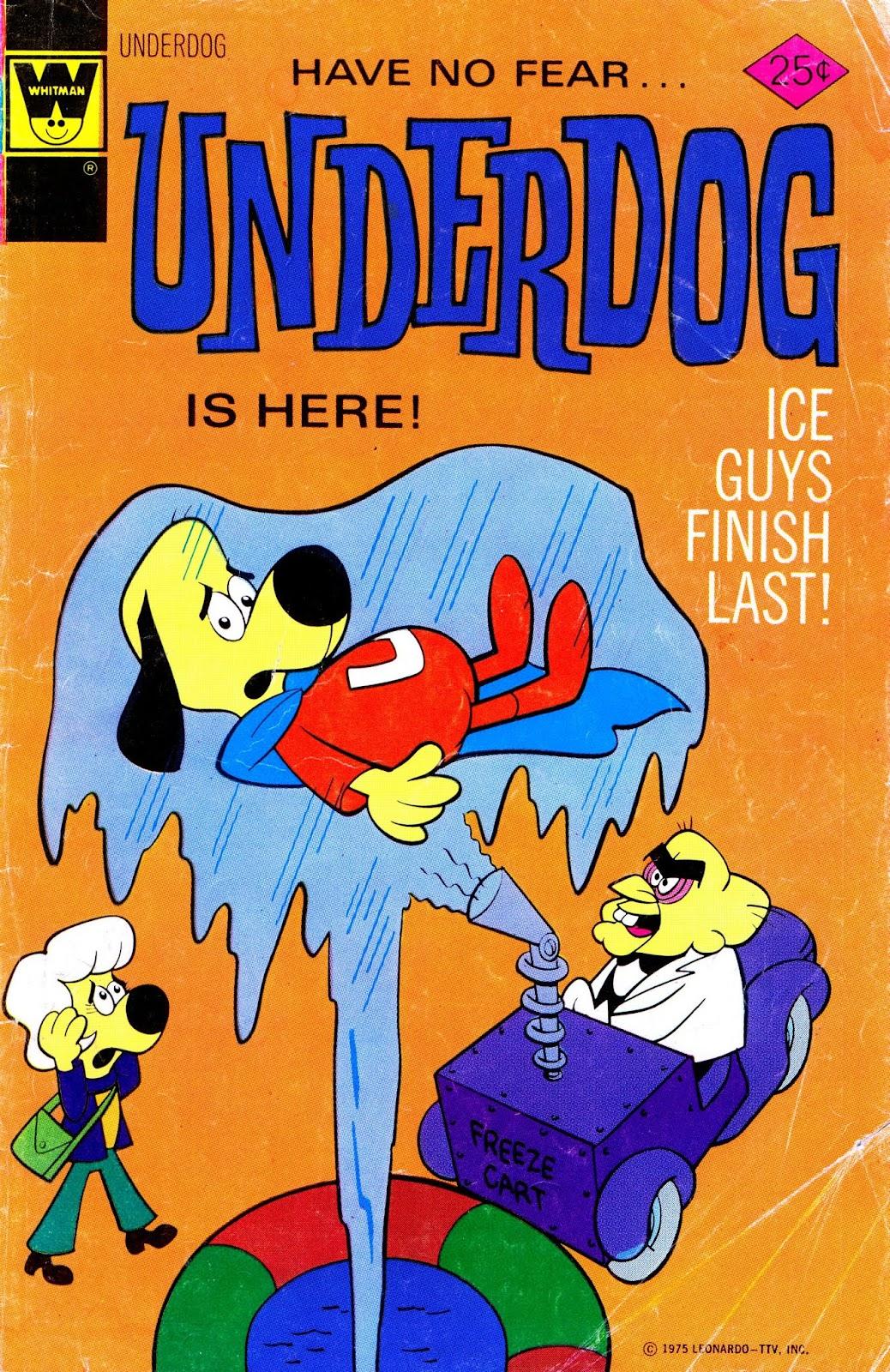 Underdog (1975) issue 3 - Page 1