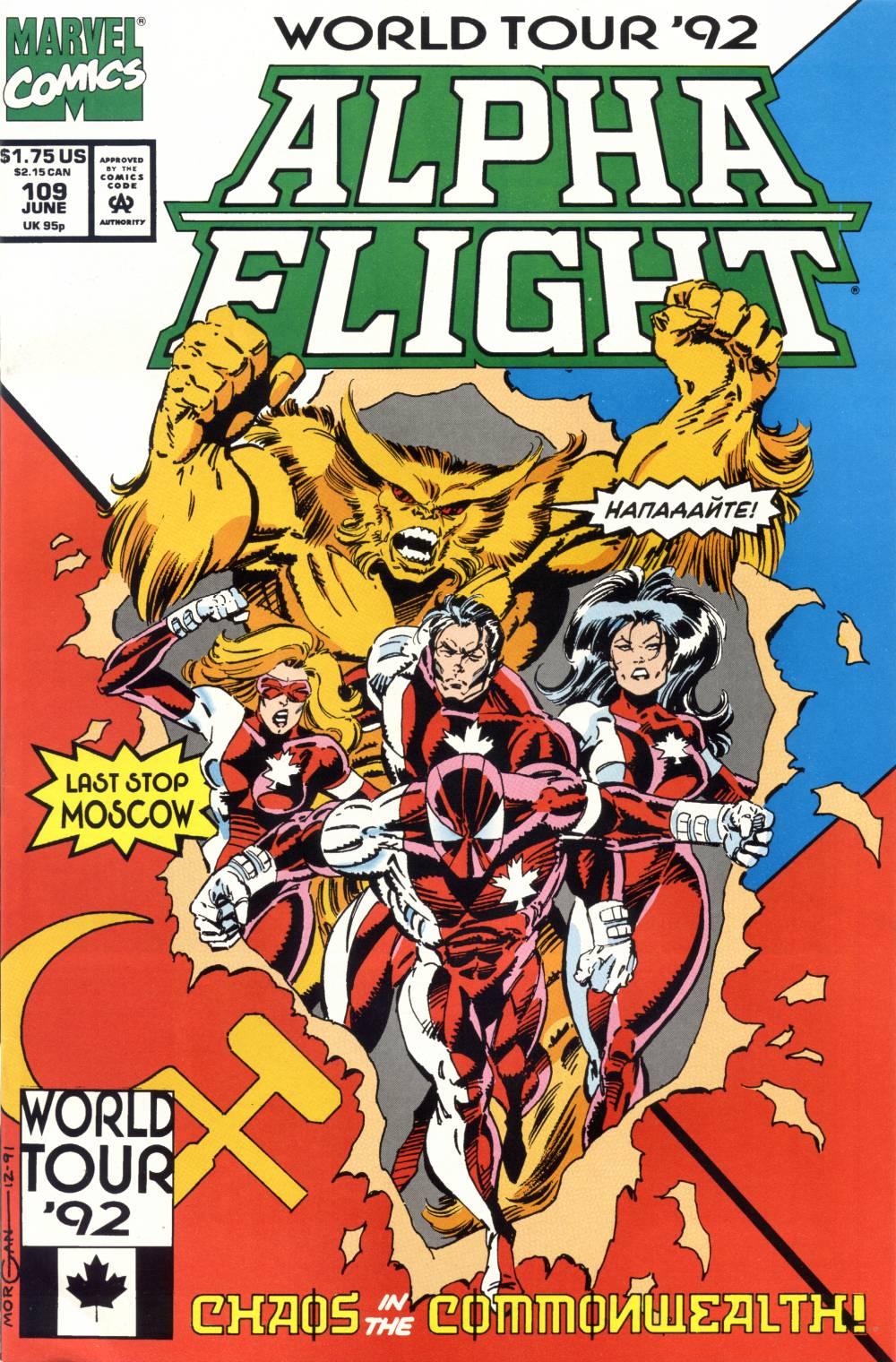 Alpha Flight (1983) 109 Page 1