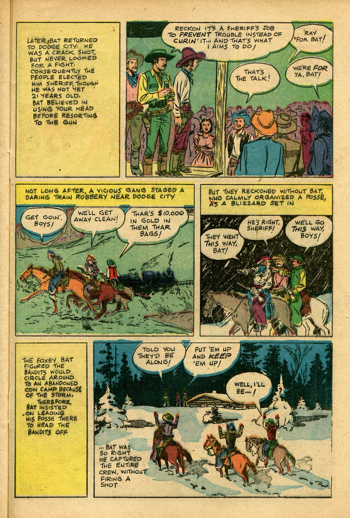 Read online Shadow Comics comic -  Issue #69 - 37
