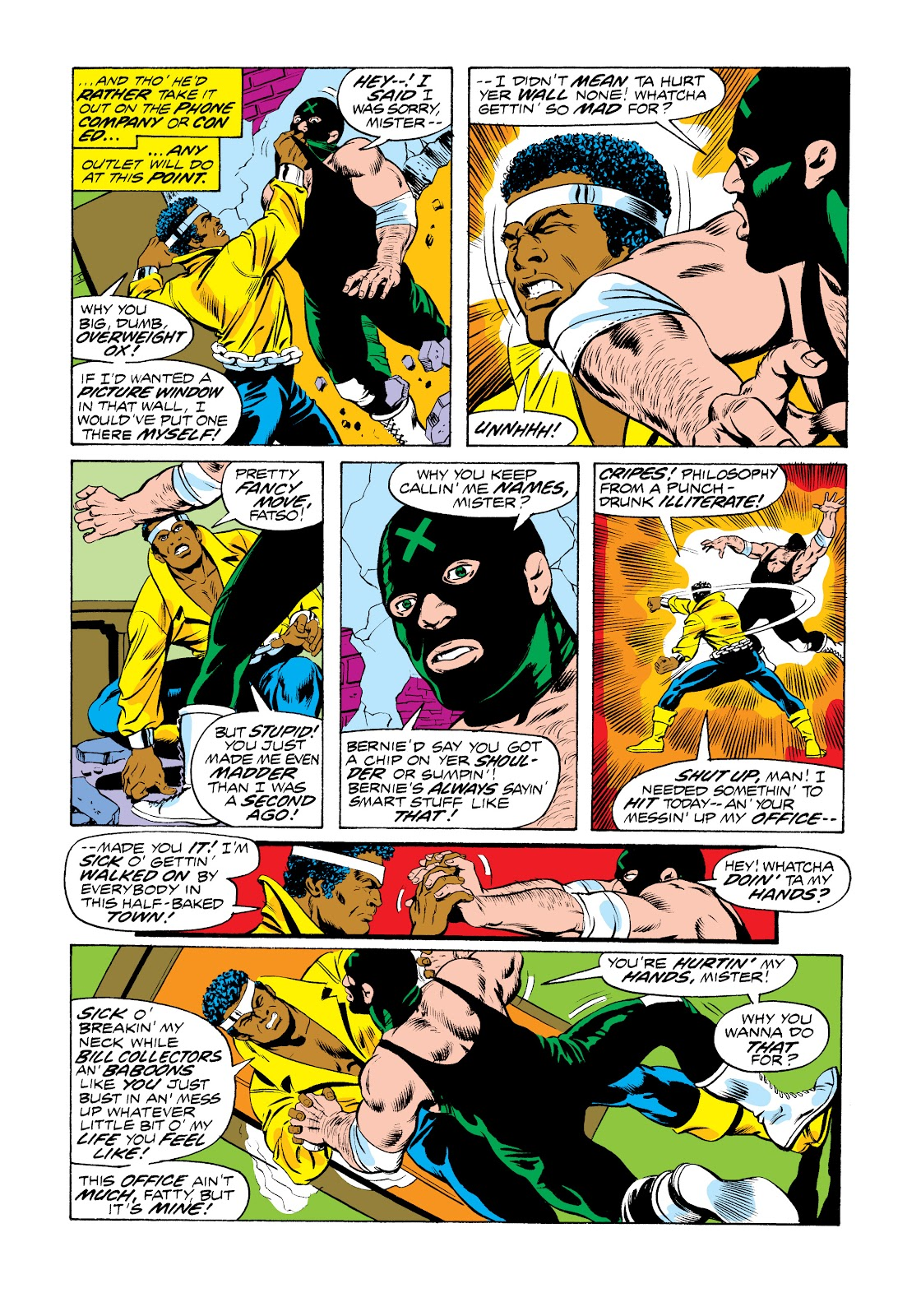 Read online Marvel Masterworks: Luke Cage, Power Man comic -  Issue # TPB 2 (Part 3) - 4