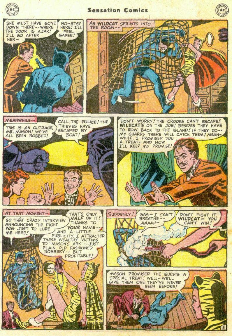 Read online Sensation (Mystery) Comics comic -  Issue #75 - 46