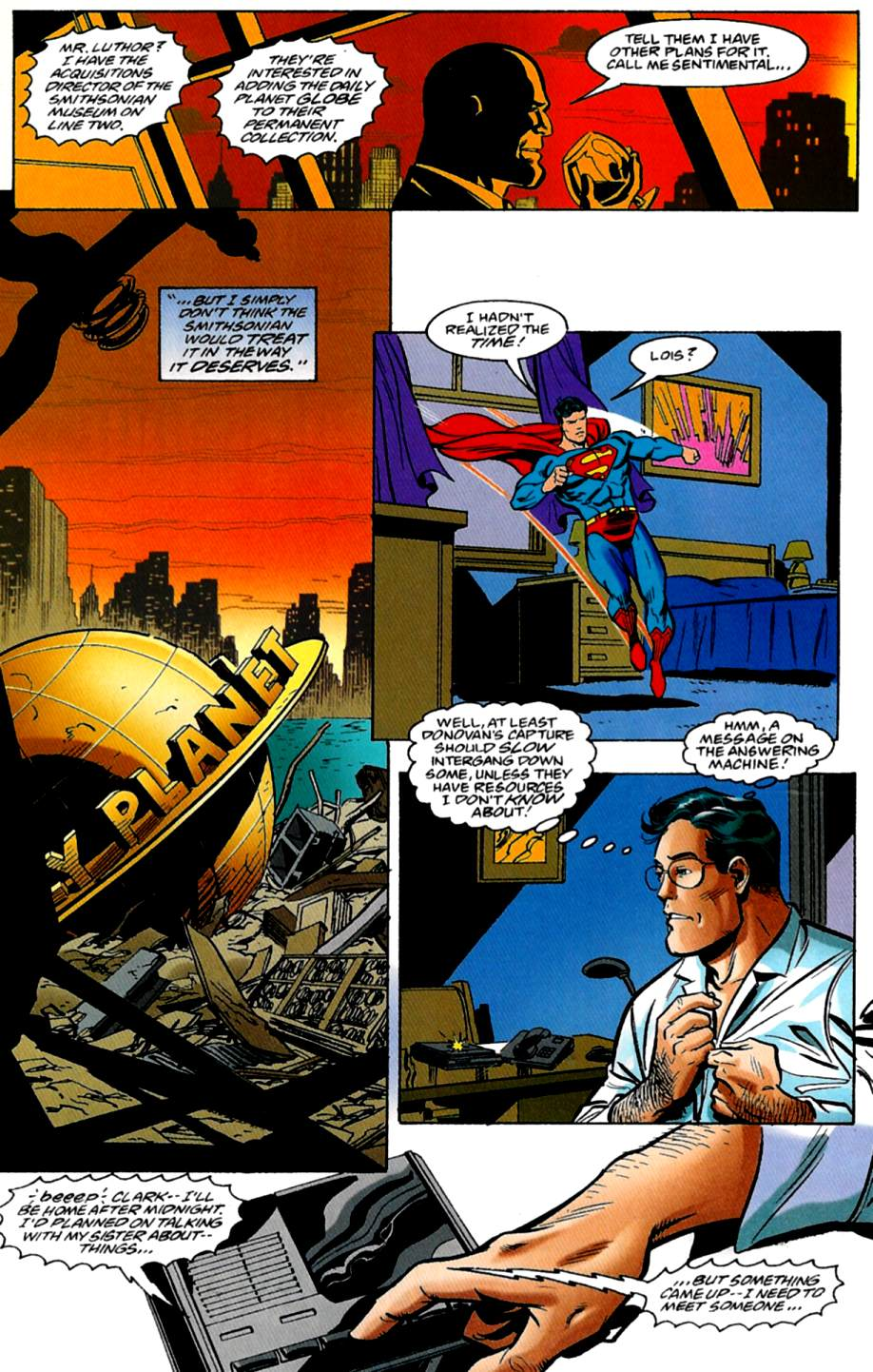 Read online Adventures of Superman (1987) comic -  Issue #562 - 21