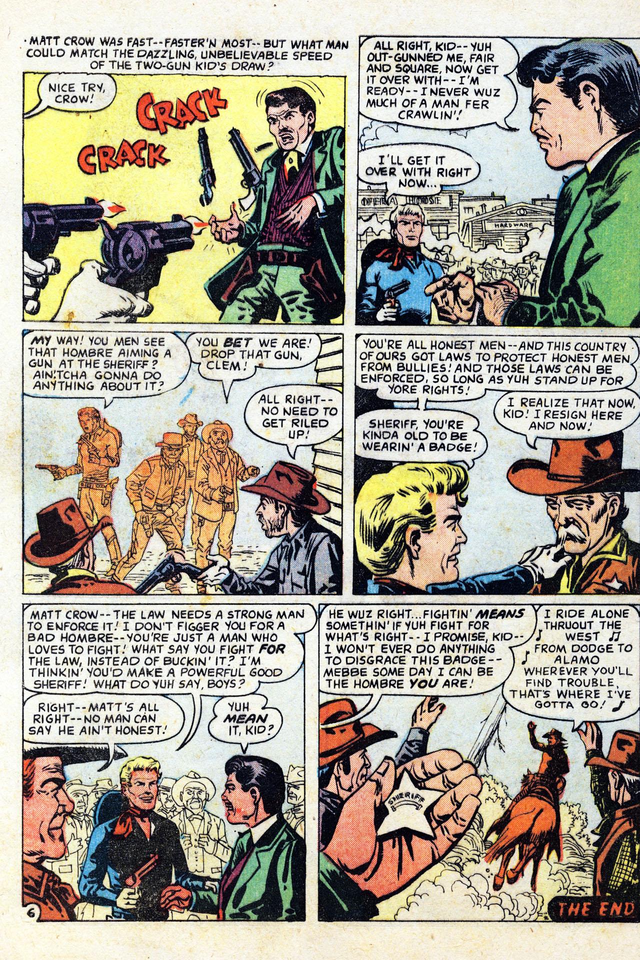 Read online Two-Gun Kid comic -  Issue #41 - 32