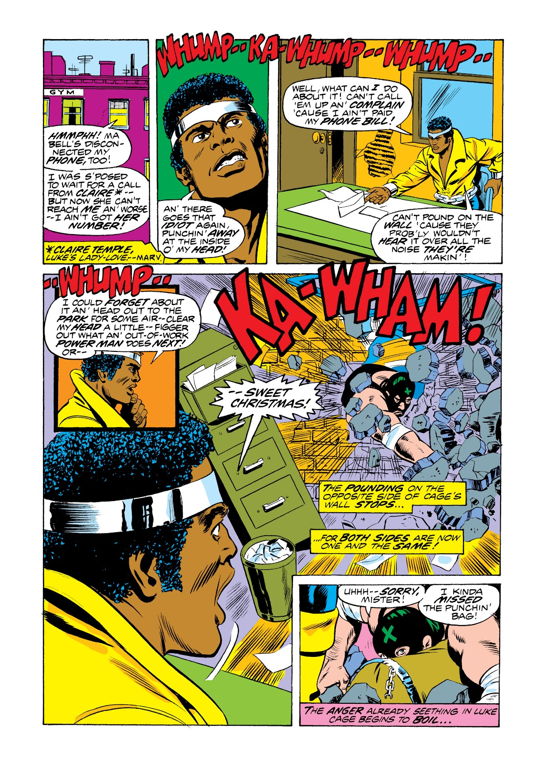 Read online Marvel Masterworks: Luke Cage, Power Man comic -  Issue # TPB 2 (Part 3) - 3