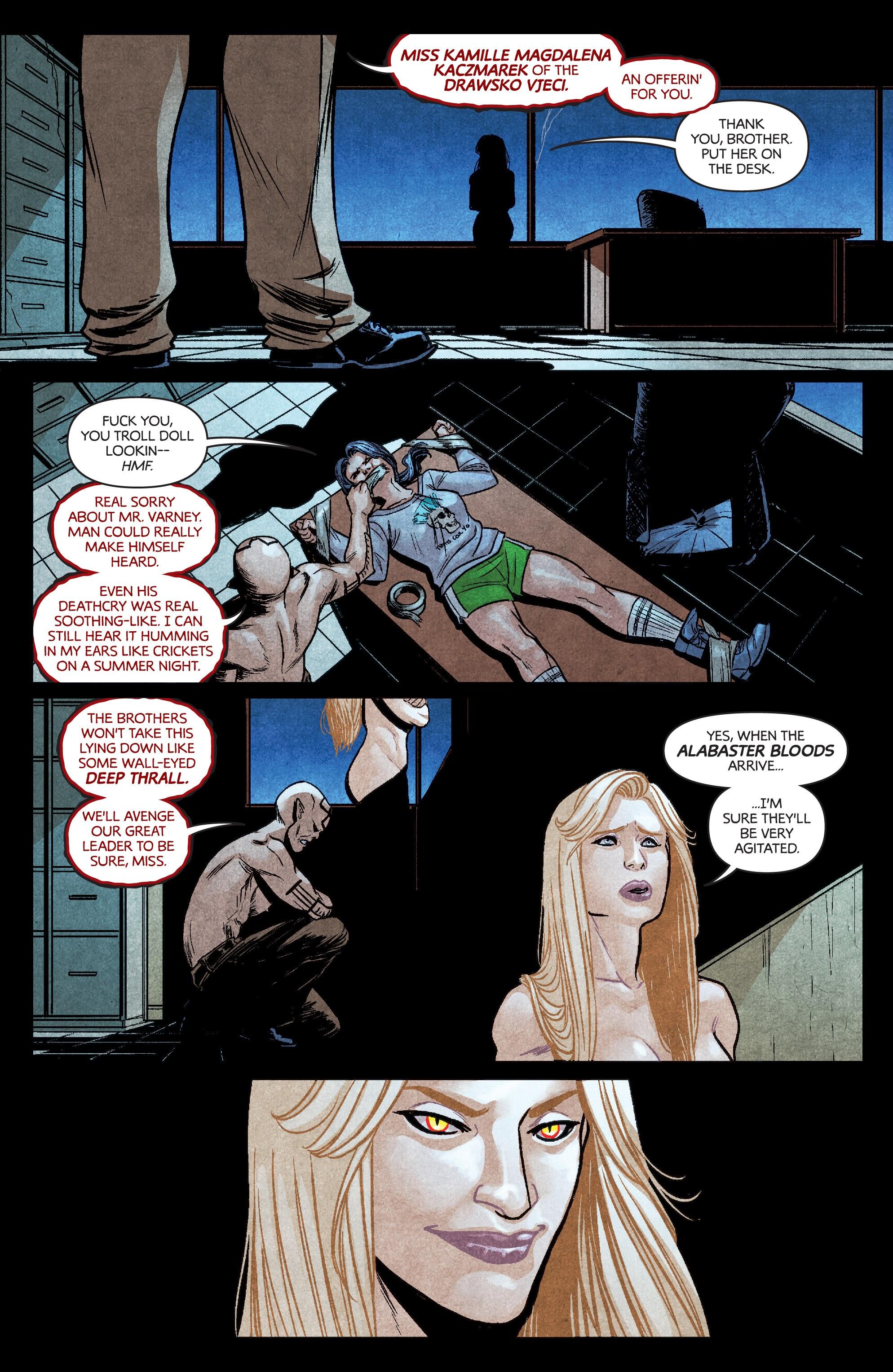 Read online Dark Red comic -  Issue #4 - 6